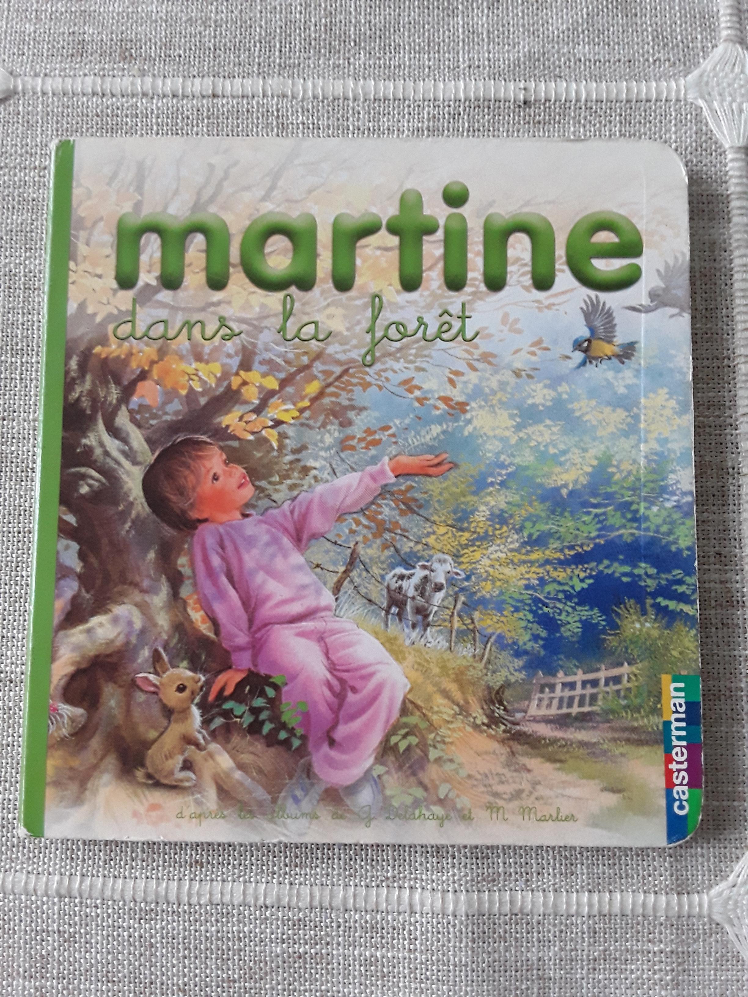 troc de troc petit livre cartonné martine dans la forêt image 0
