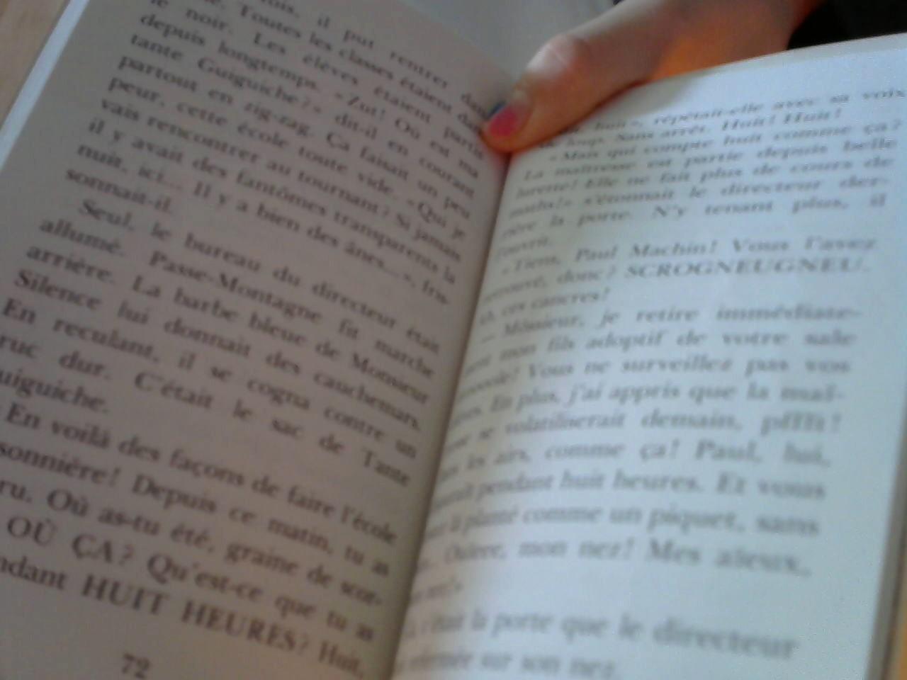 """troc de troc livre """"passe montagne à l'école des âmes"""" image 2"""