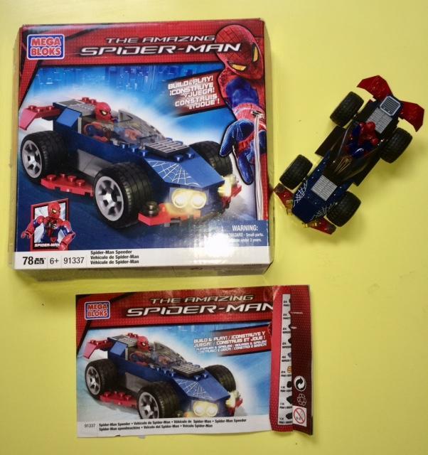 troc de troc spiderman speedracer - collector rare - megabloks 91337 image 0