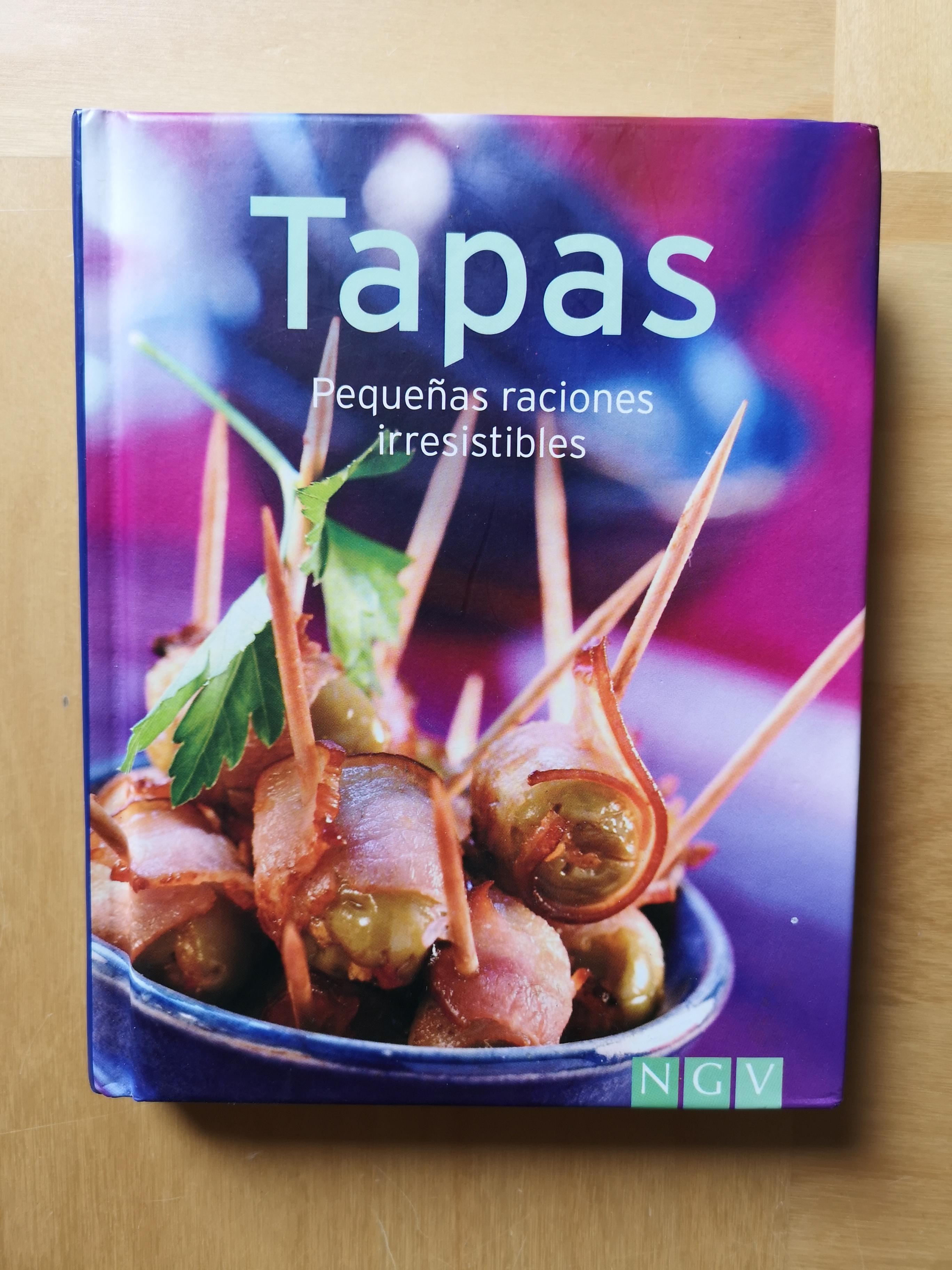 troc de troc livre sur les tapas ( en langue espagnole) image 0