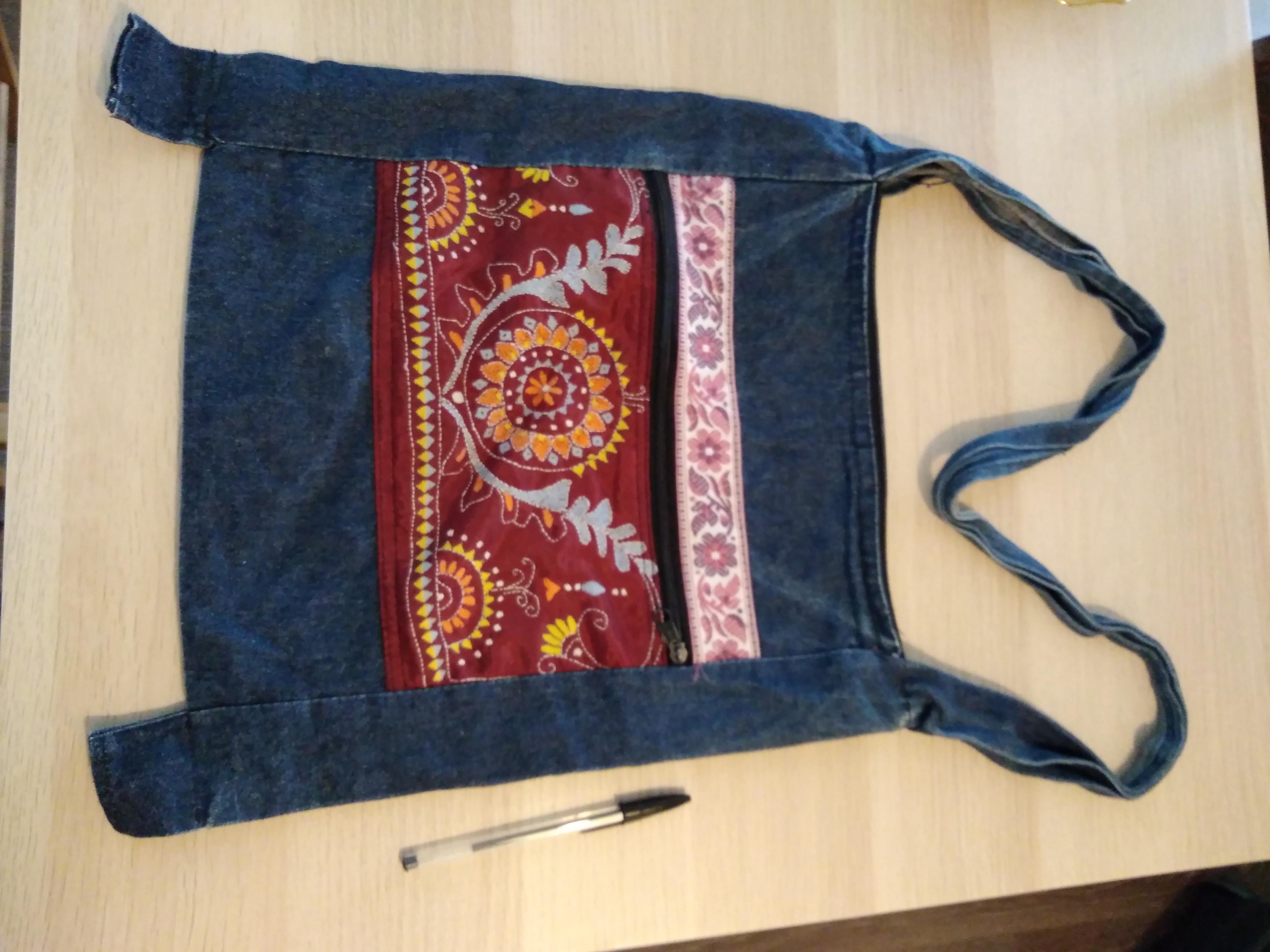 troc de troc sac avec décor image 0