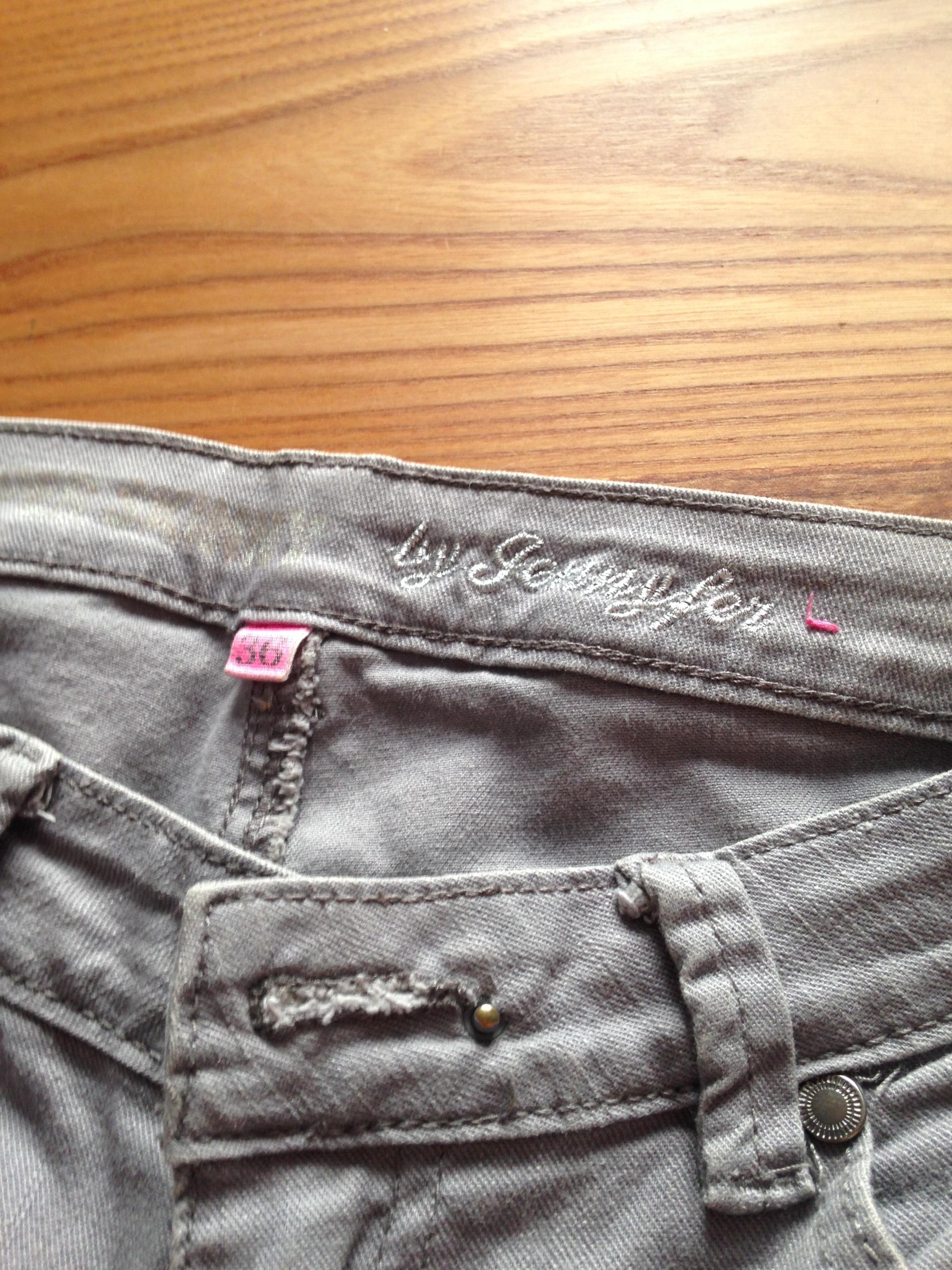 troc de troc jean gris t34/36 image 2