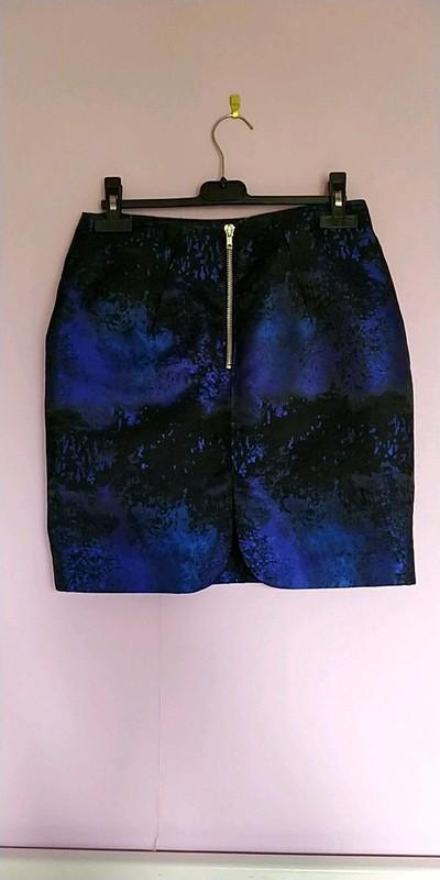 troc de troc jupe noir et bleu taille 36 marque h&m image 1