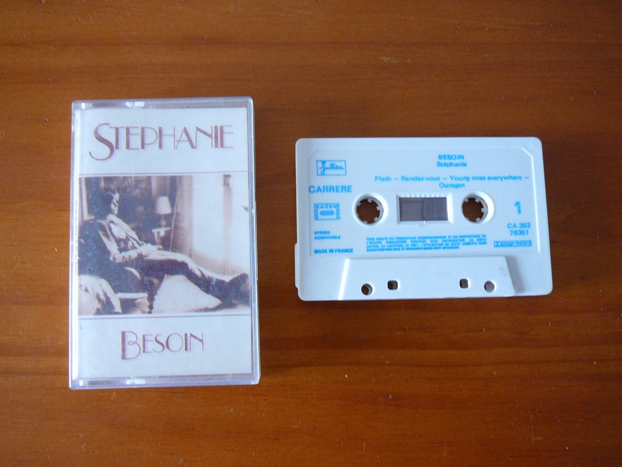 troc de troc cassette audio stéphanie image 0