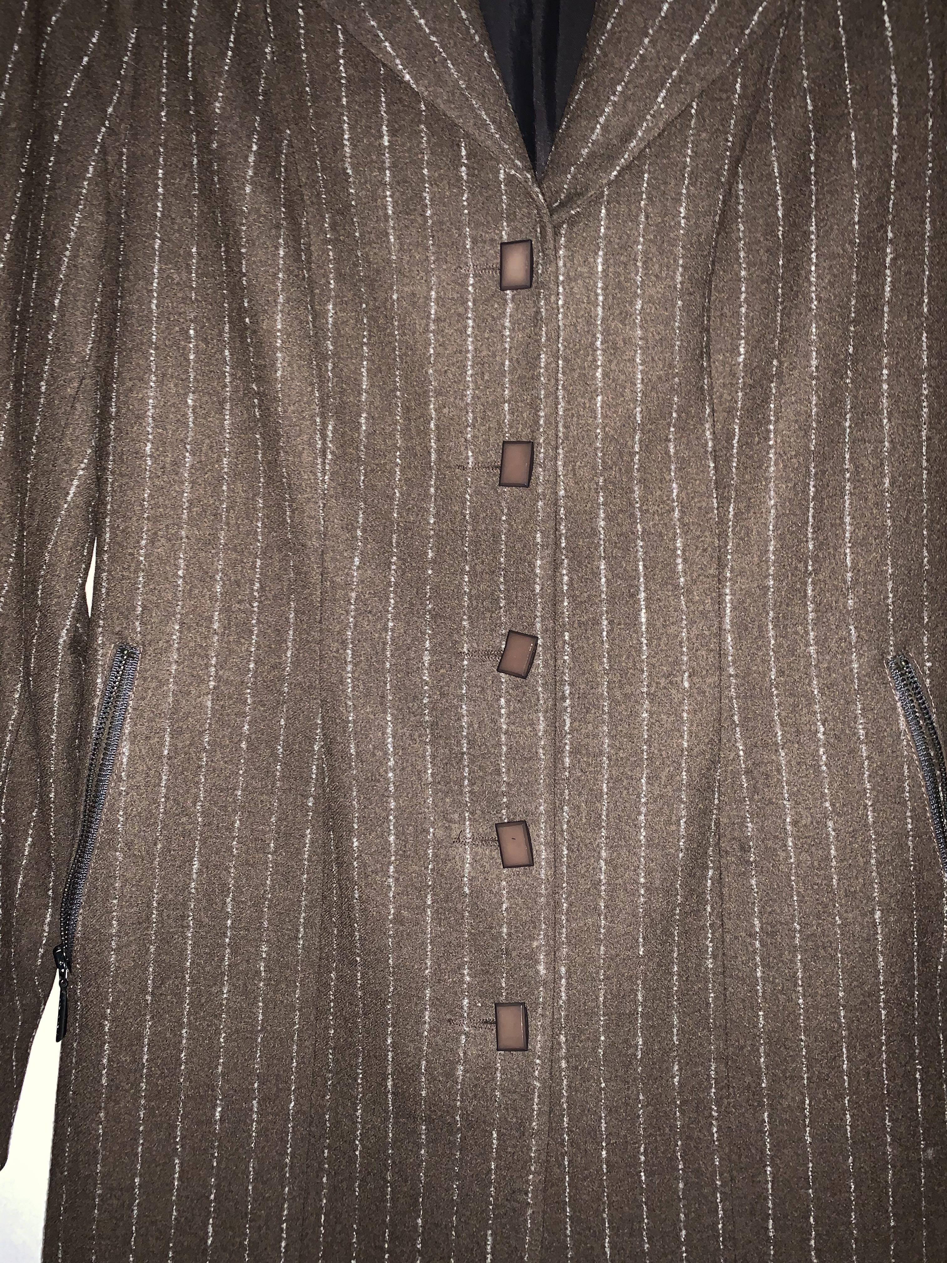 troc de troc veste  longue marron image 0