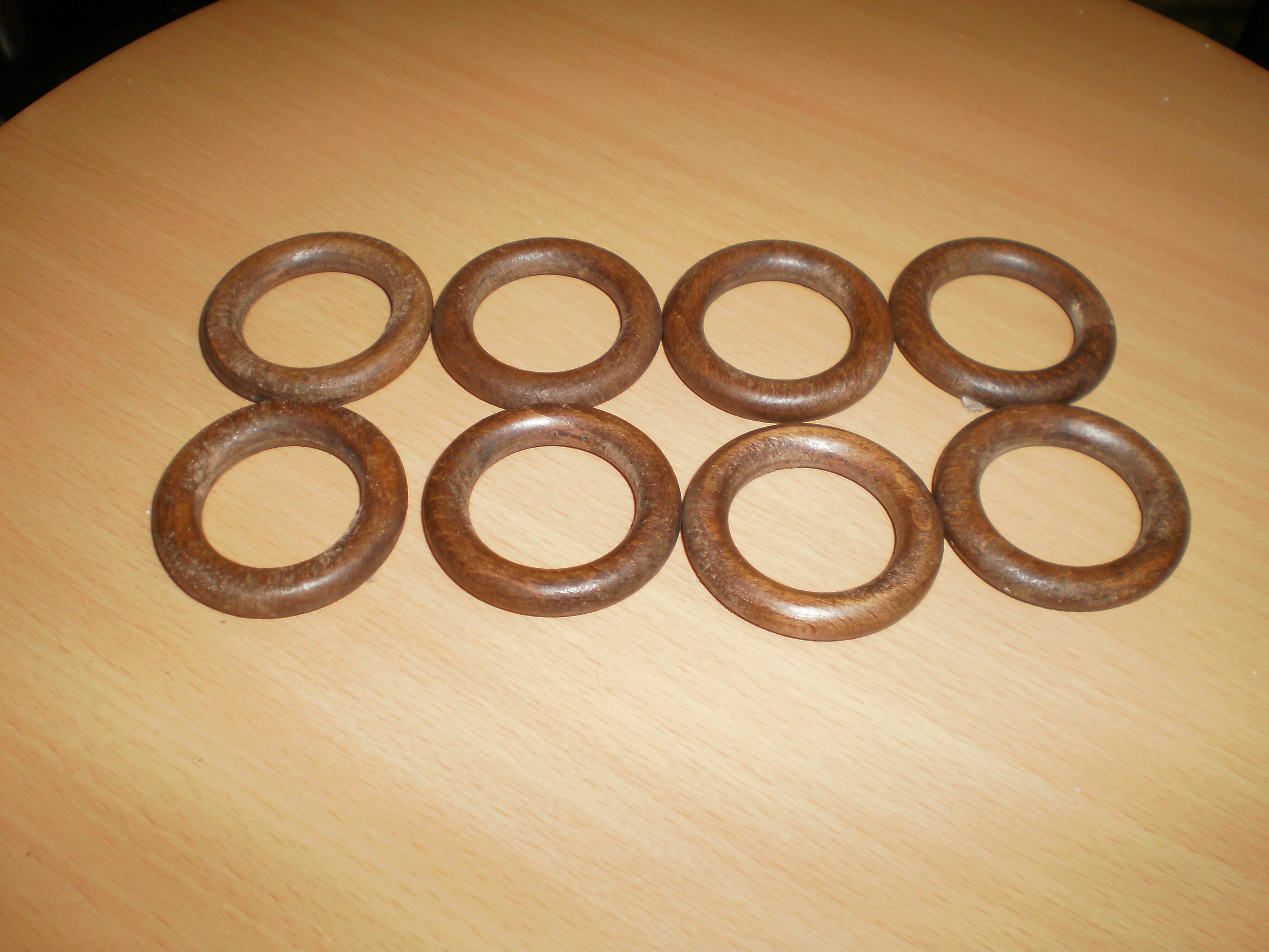 troc de troc 8 anneaux bois parfait état image 0
