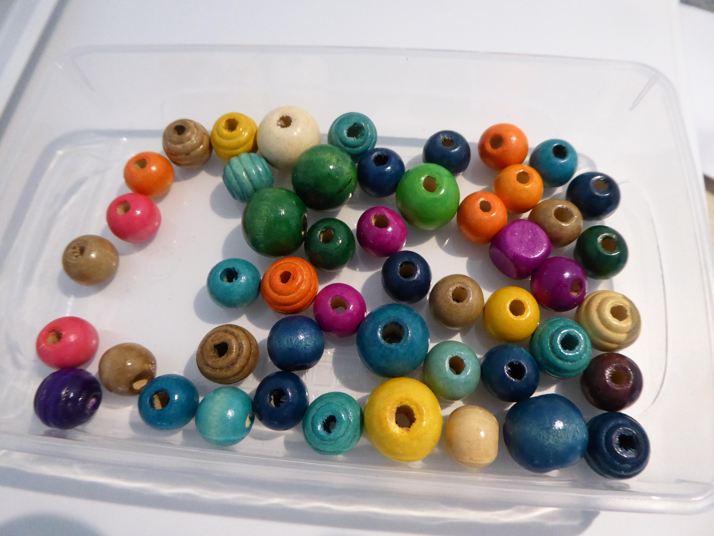 troc de troc perles colorees image 0