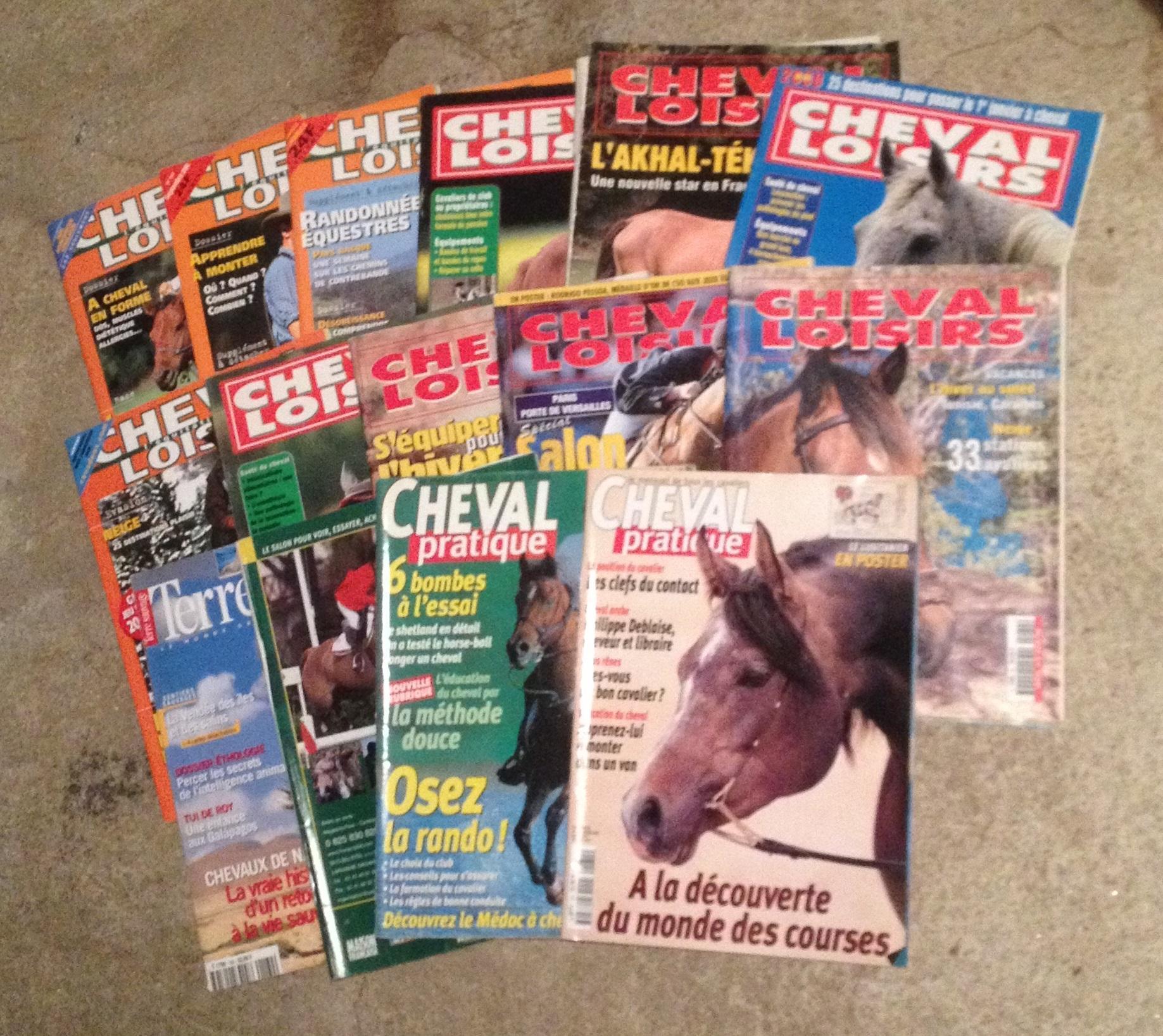 troc de troc 3 lots de magazine équestre image 1