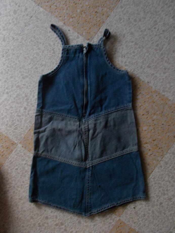 troc de troc robe en jean image 1