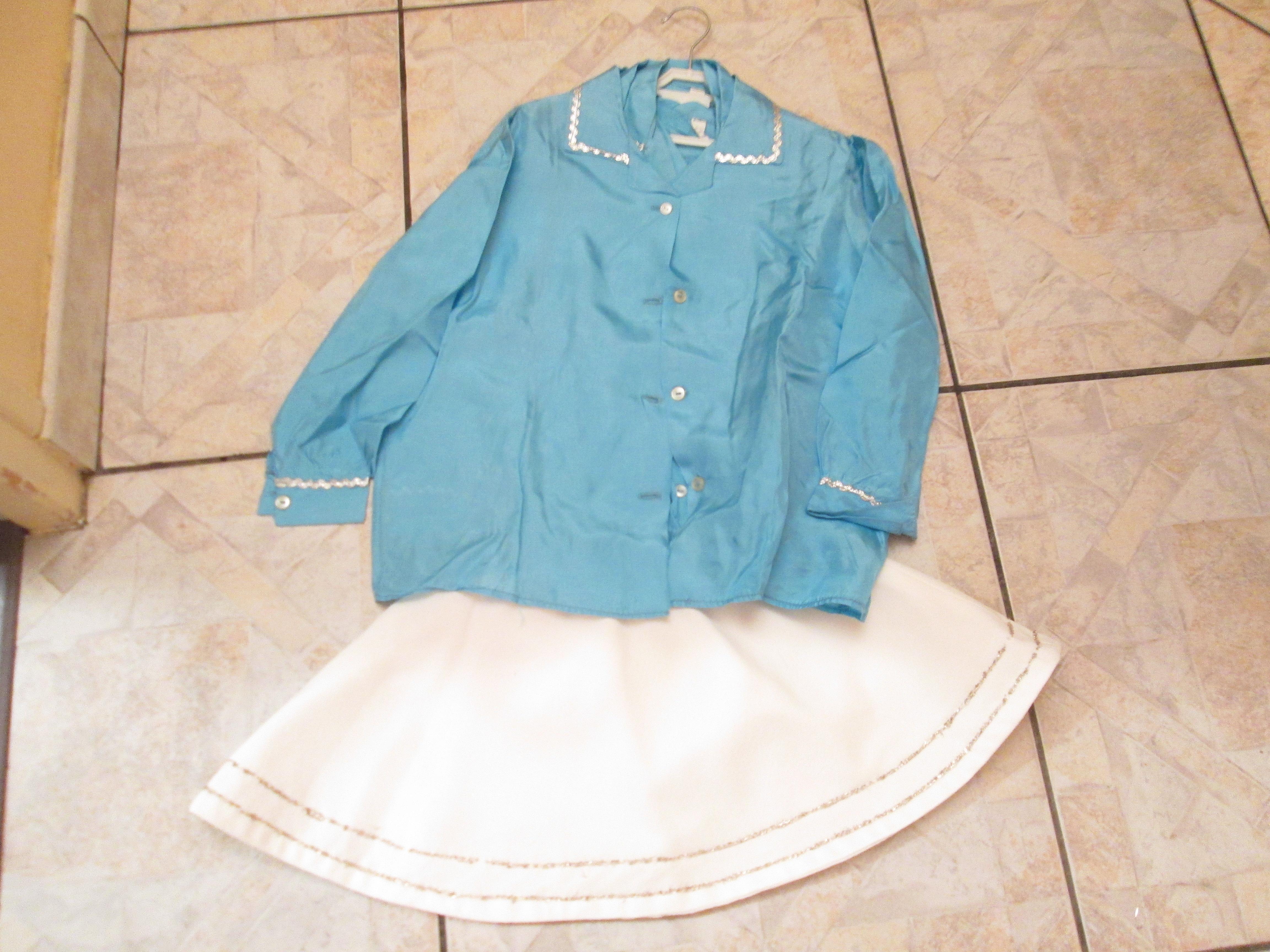 troc de troc costume 6 ans 10 noisettes jupe + chemisier image 0