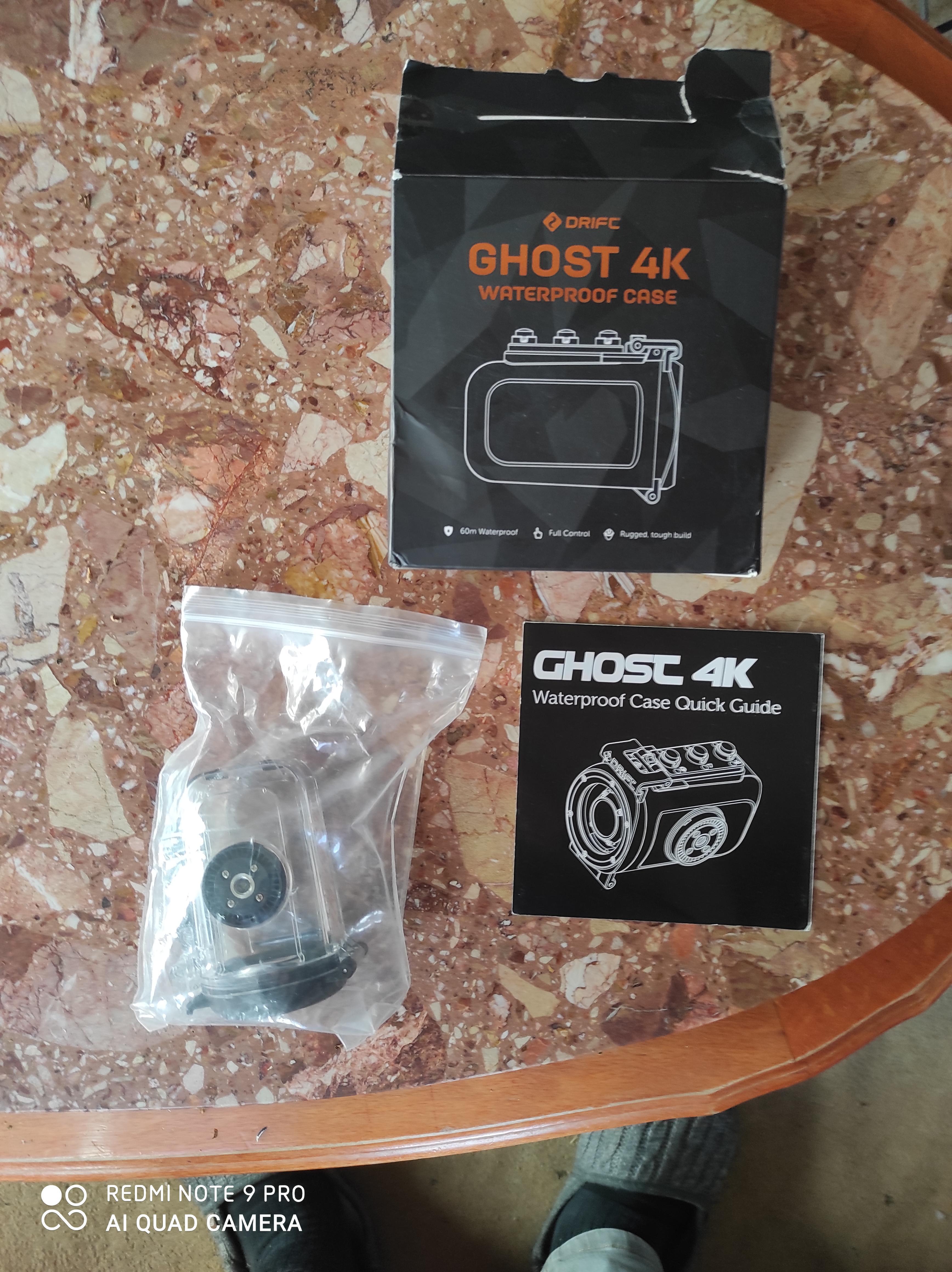troc de troc coque camera ghost 4k waterproof image 0