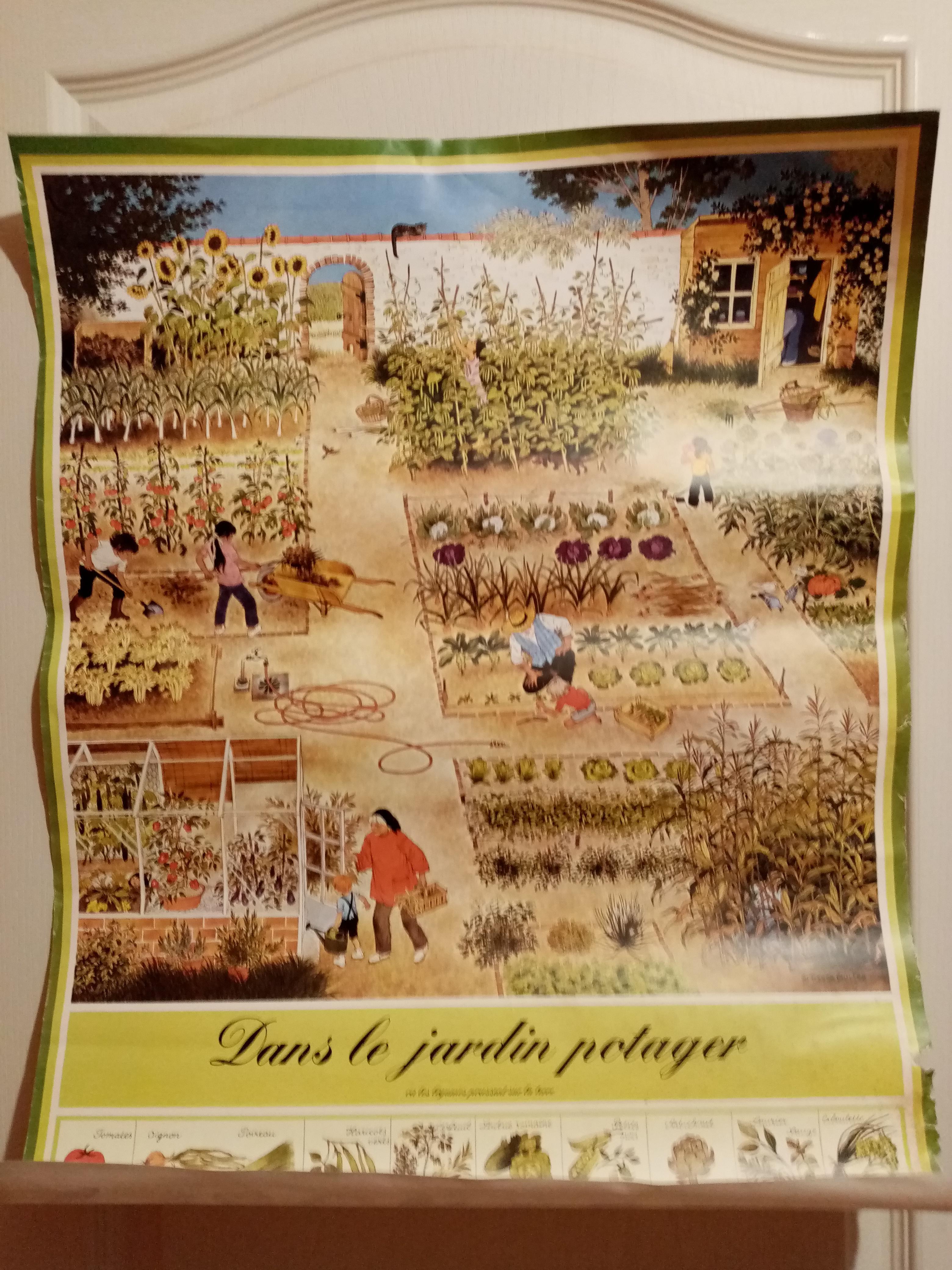 troc de troc mise à jour le 27/08/21 - grand affiche vintage image 1
