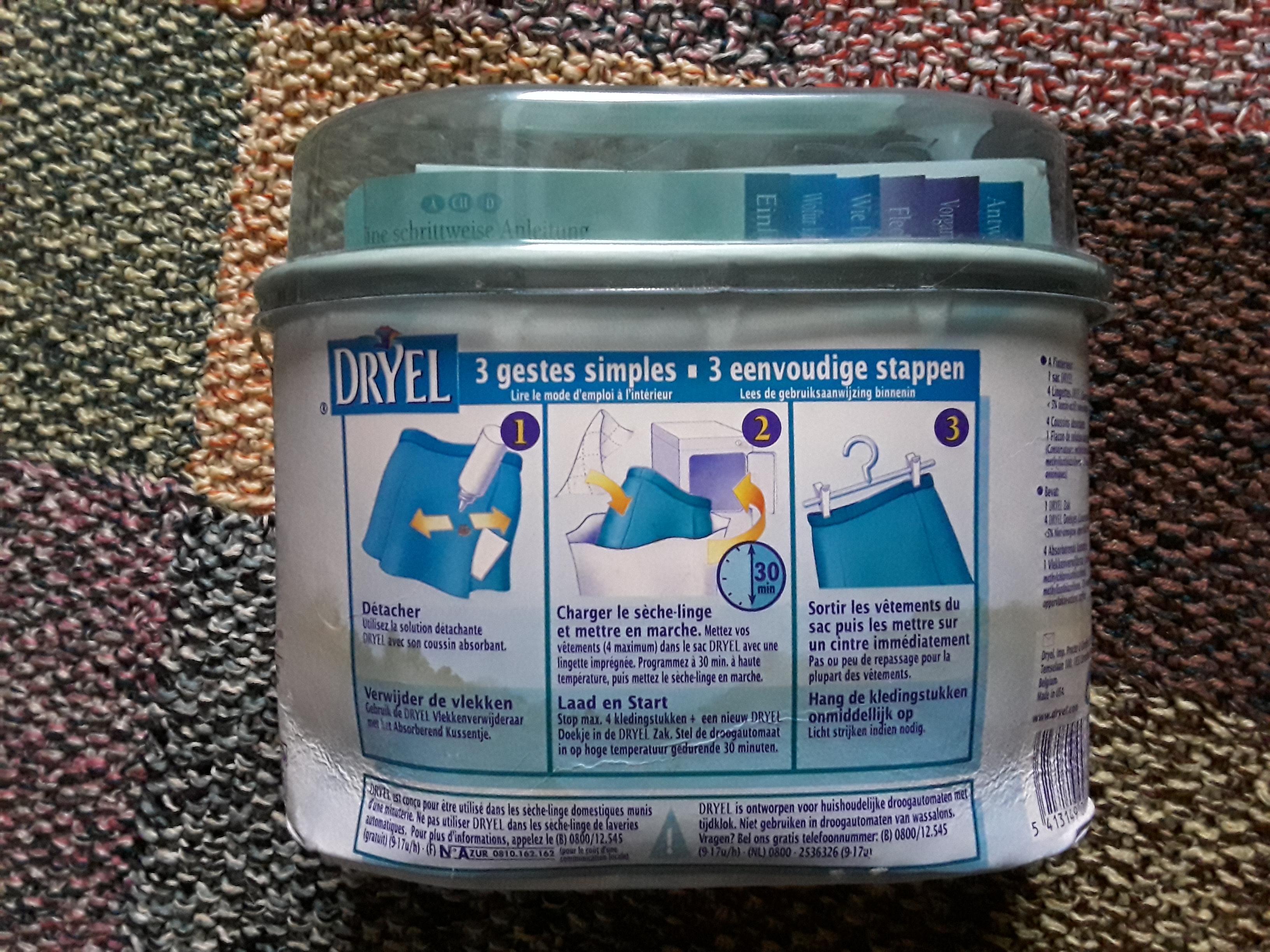 troc de troc nécessaire pour nettoyage à sec dans le sèche-linge image 1