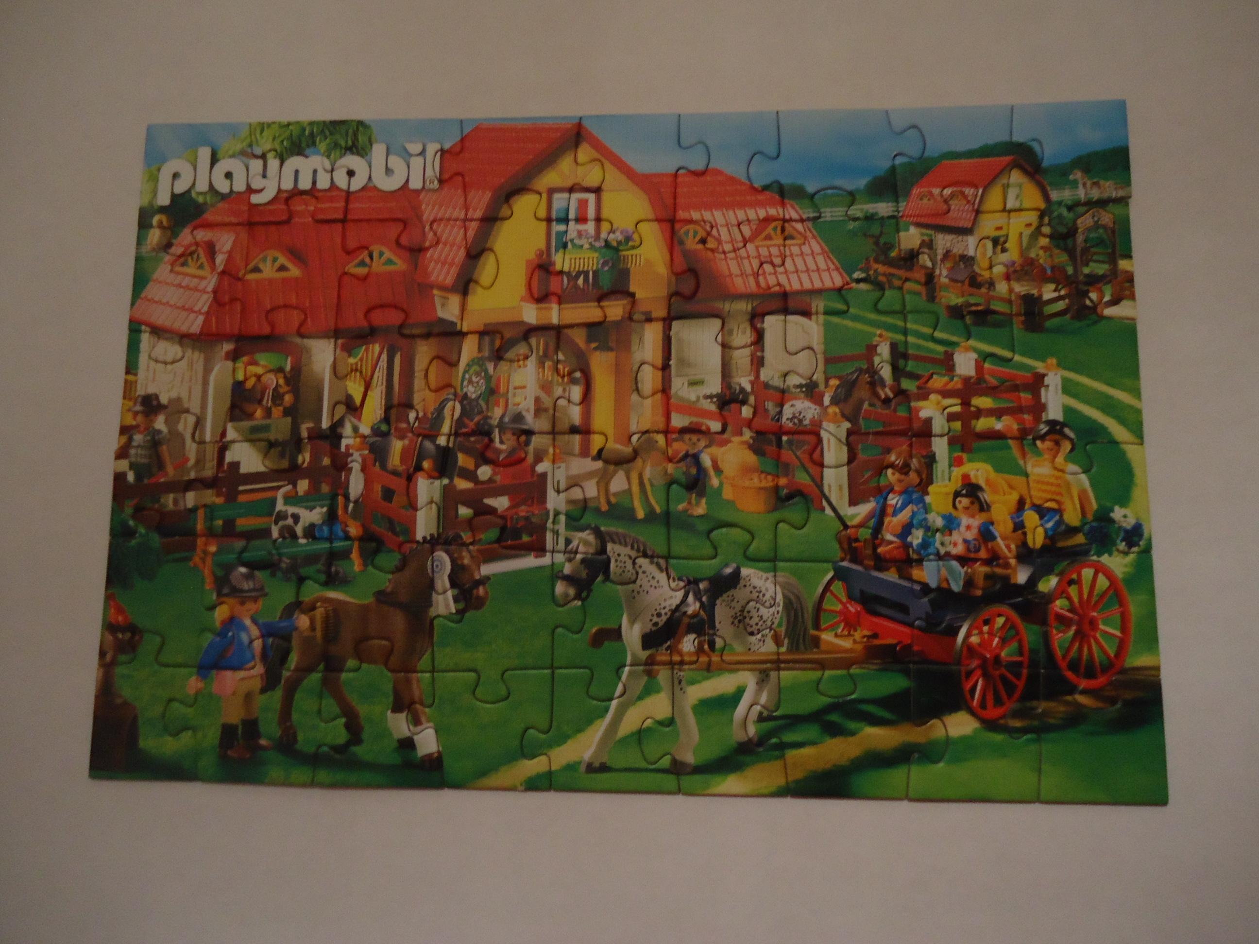 troc de troc puzzle playmobil dans son emballage tbe image 0