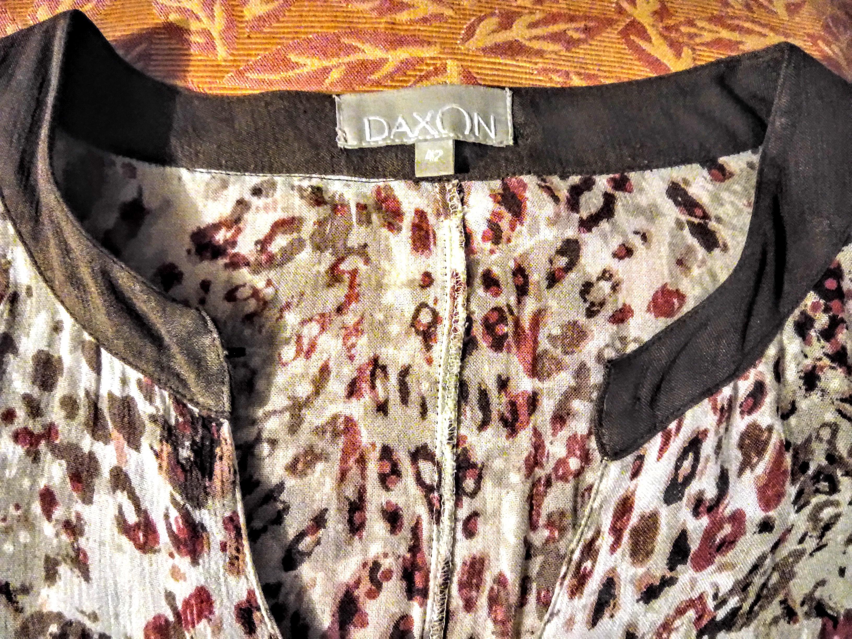 """troc de troc robe """"daxon"""" t. 42 image 2"""