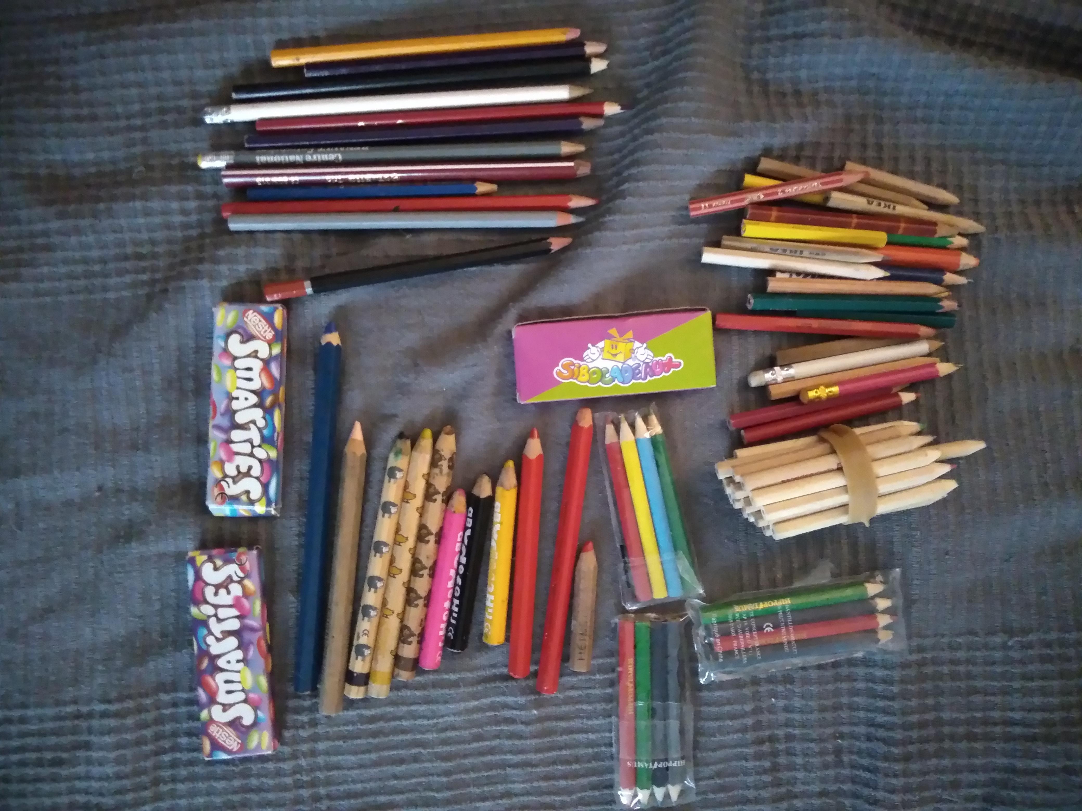 troc de troc résa garance /  lot crayons pour garance image 0