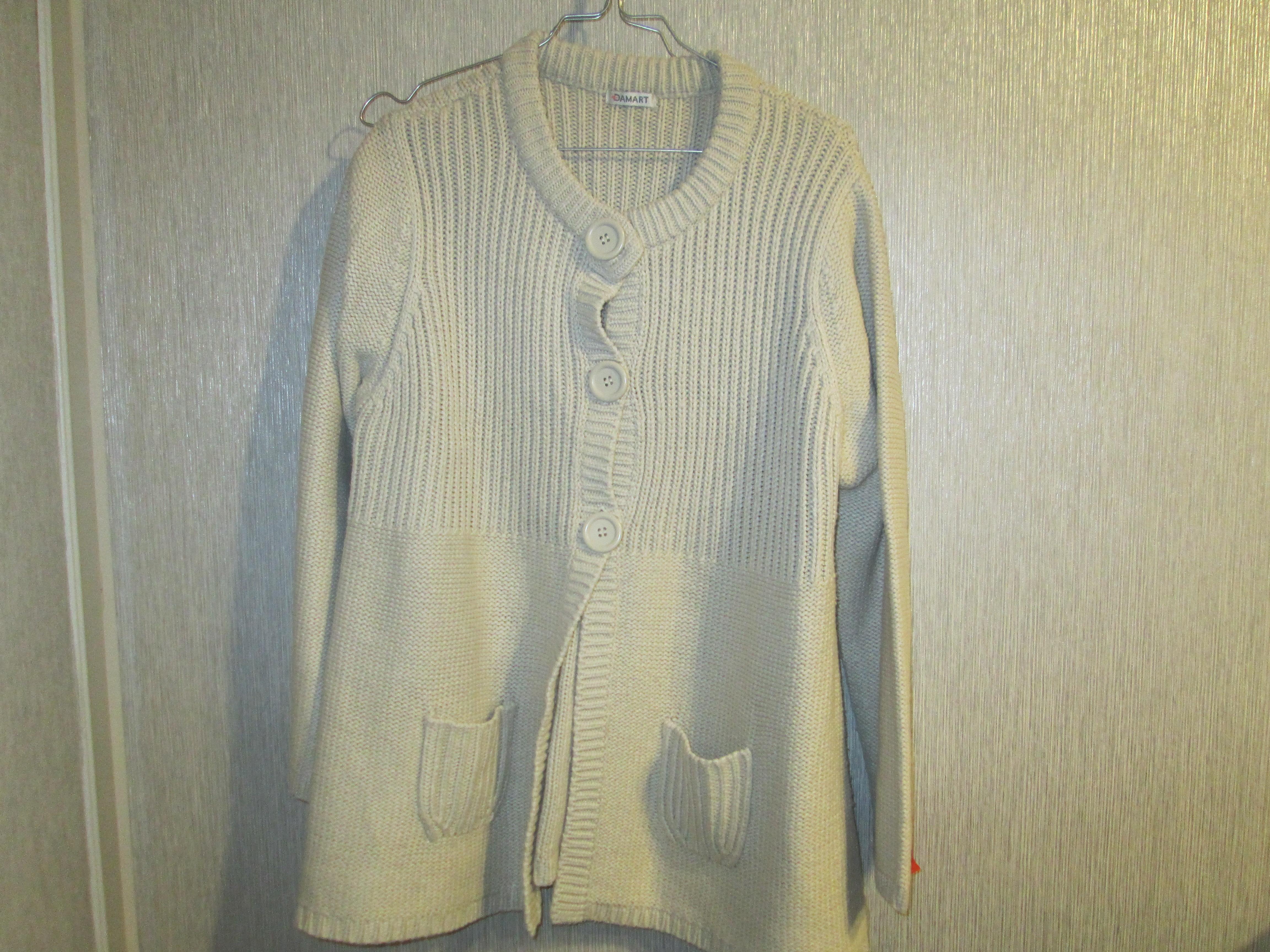 troc de troc reserve    veste de laine damard  taille 46/48 25 noisettes image 0