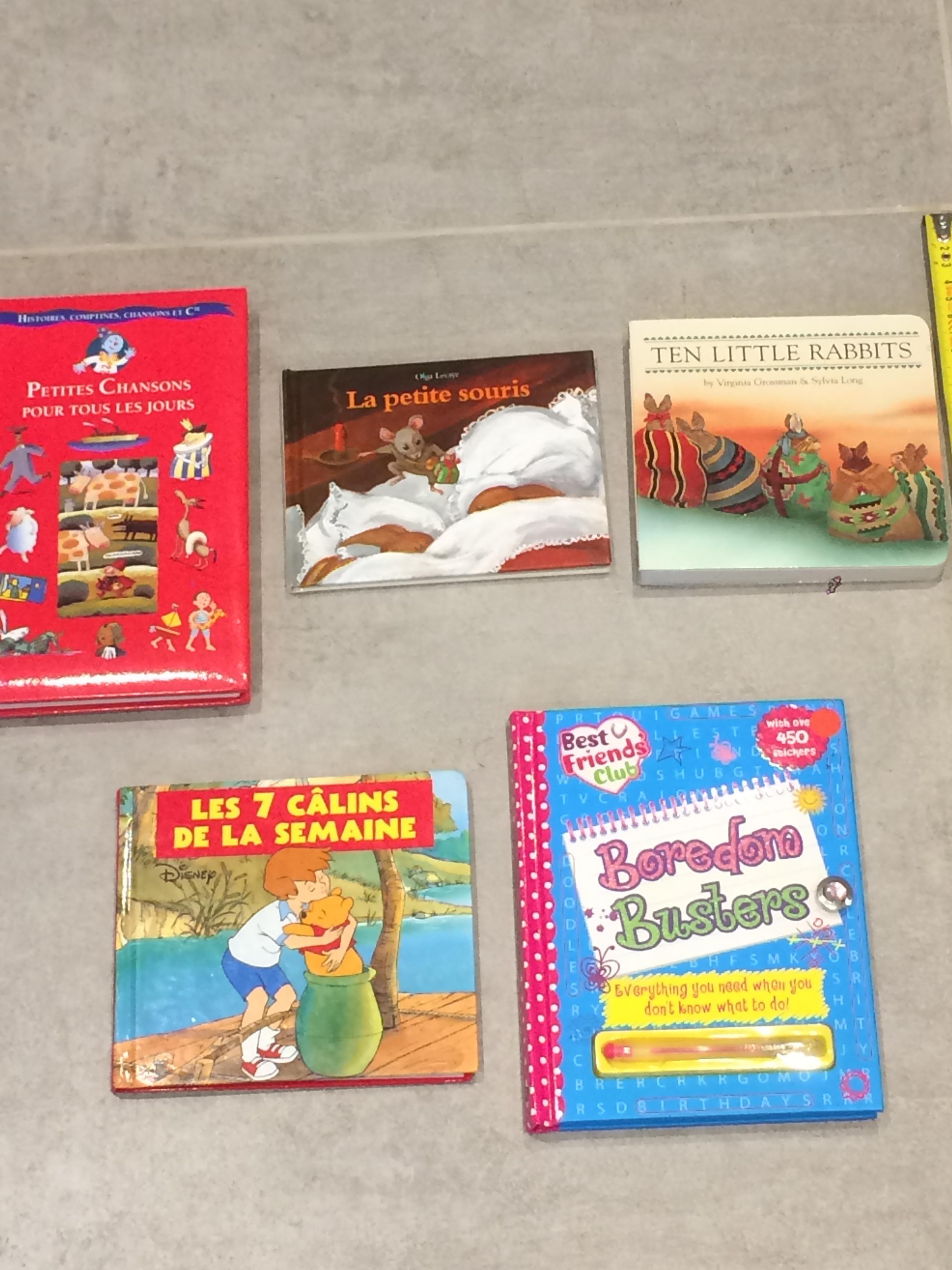 troc de troc 5 livres enfants 3 image 0