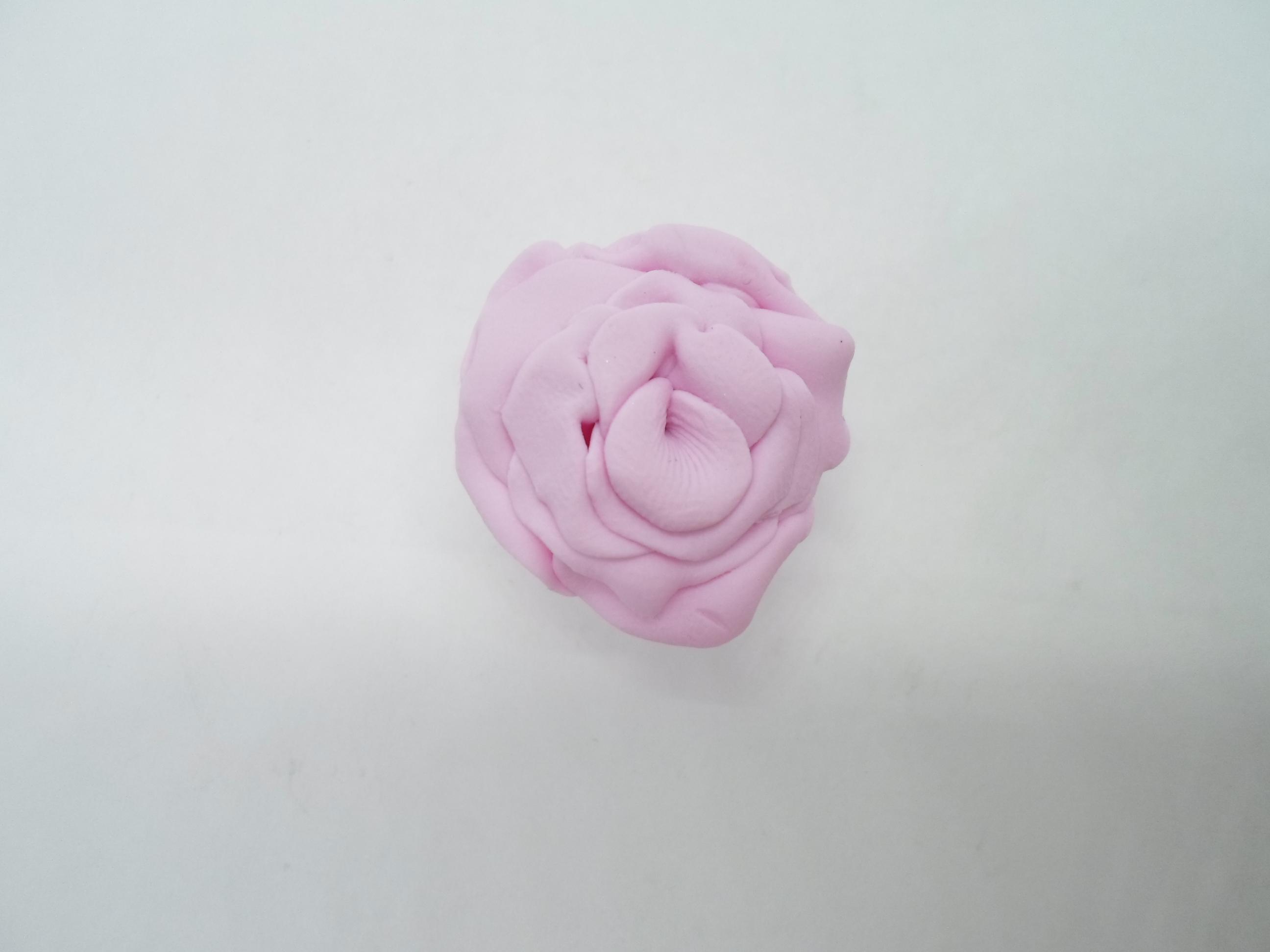 troc de troc rose rose en fimo image 0