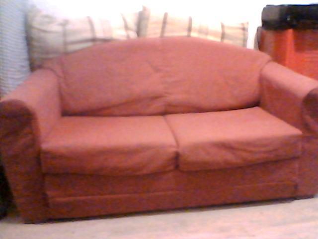 troc de troc canapé convertible rouge image 0