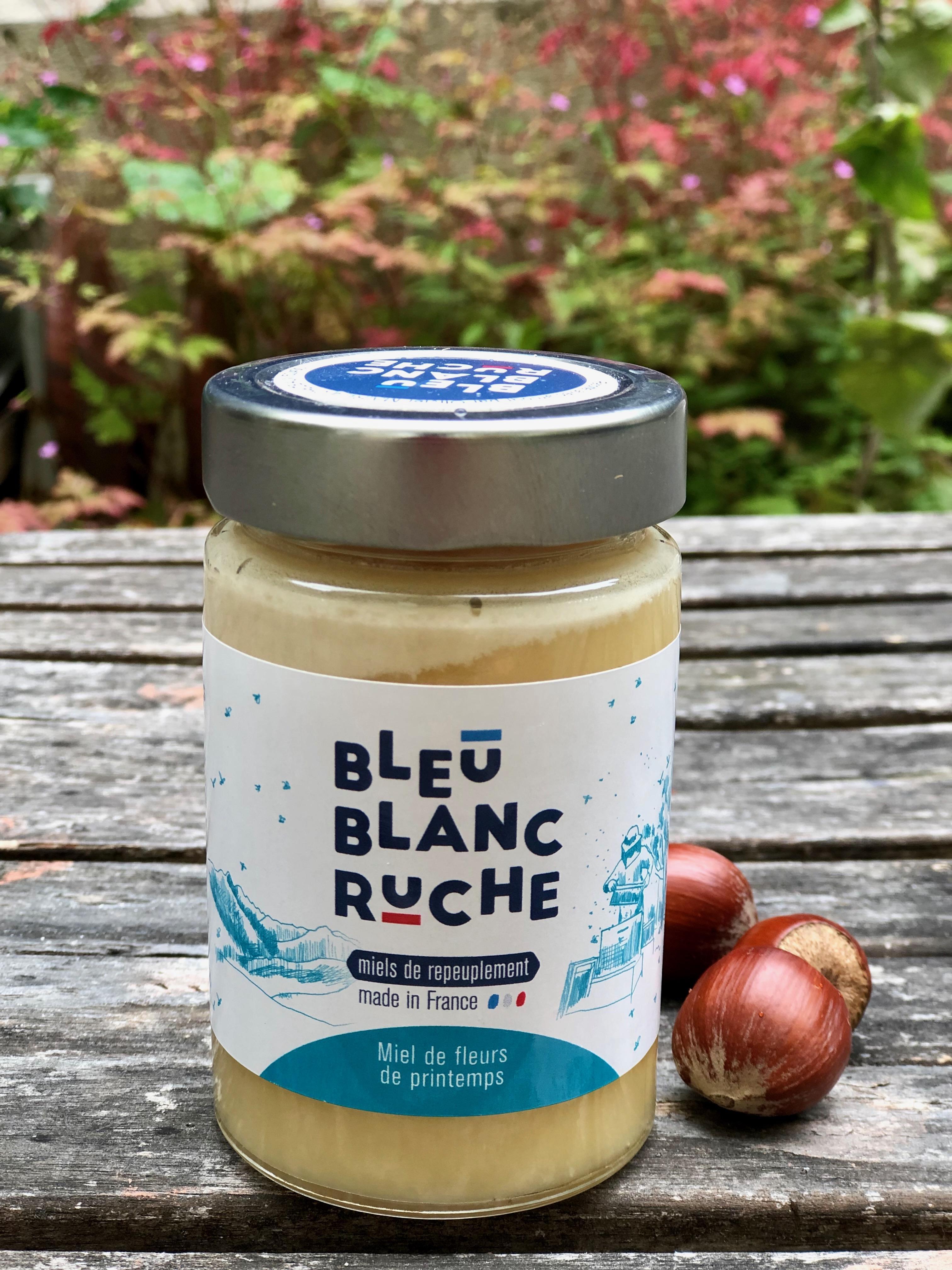 troc de troc *epuisé* miel de repeuplement bleu blanc ruche image 0