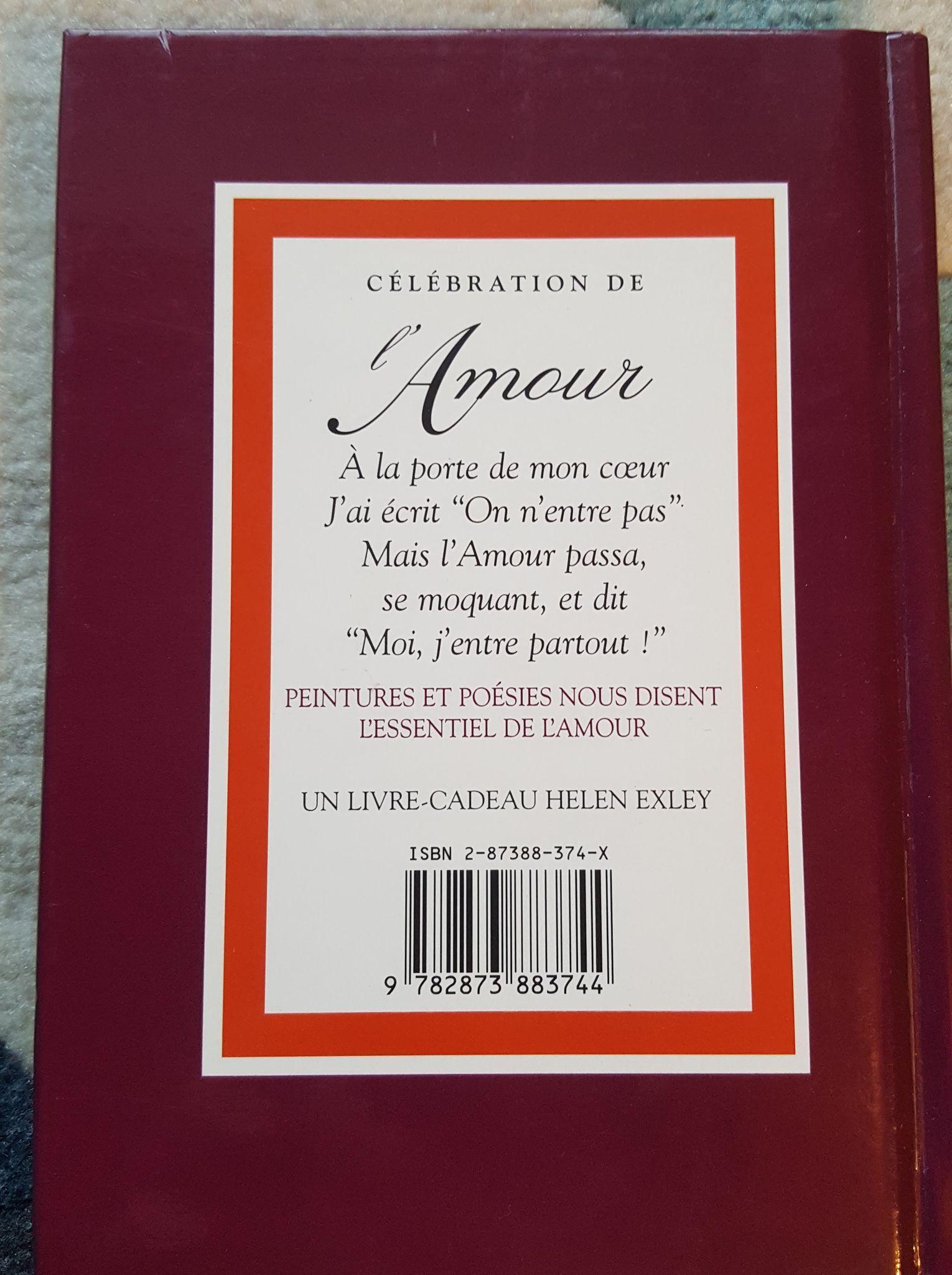 troc de troc livre-cadeau helen exley - citations et poèmes sur l'amour image 1