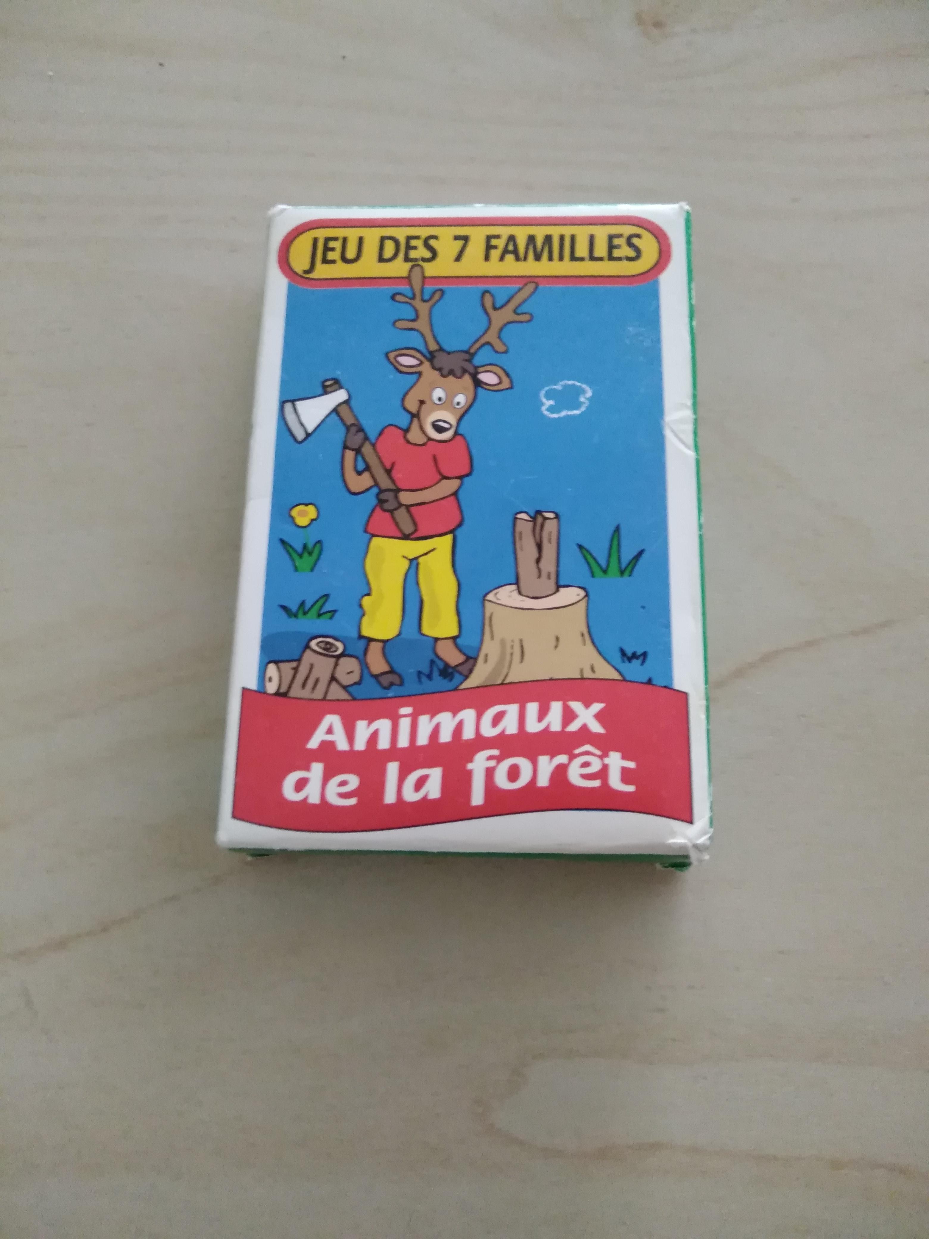 troc de troc jeu 7 familles animaux de la forêt image 0