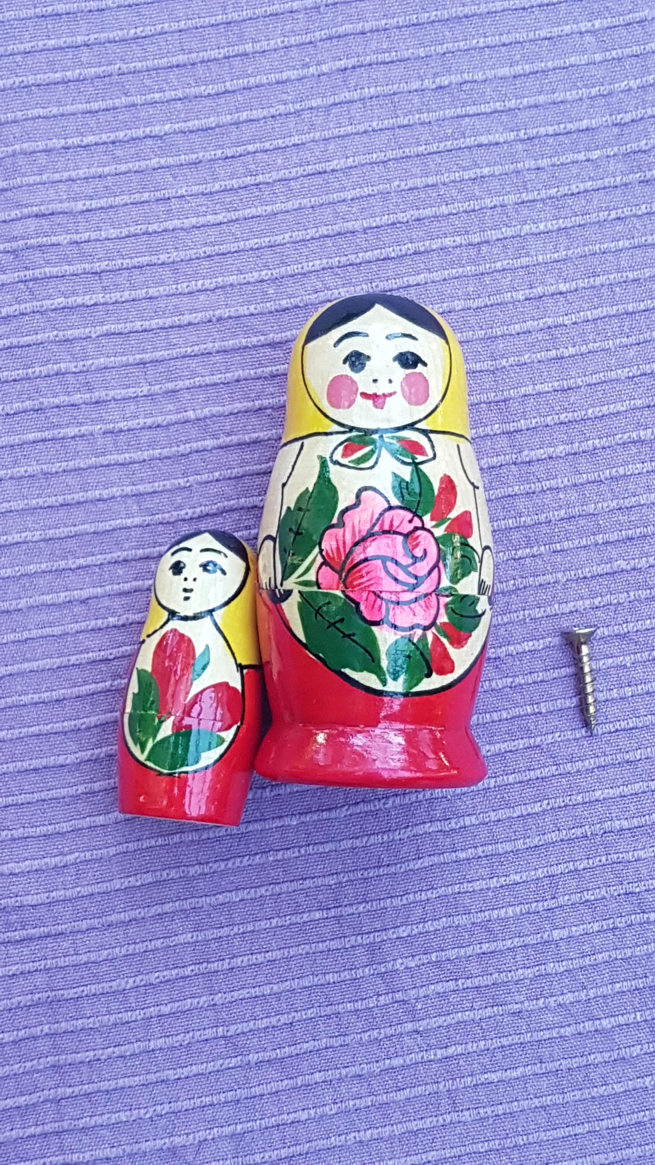 troc de troc 2 petites poupées russes image 0