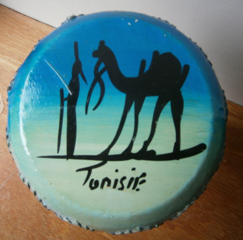 troc de troc derbuka tunisienne en argile image 1