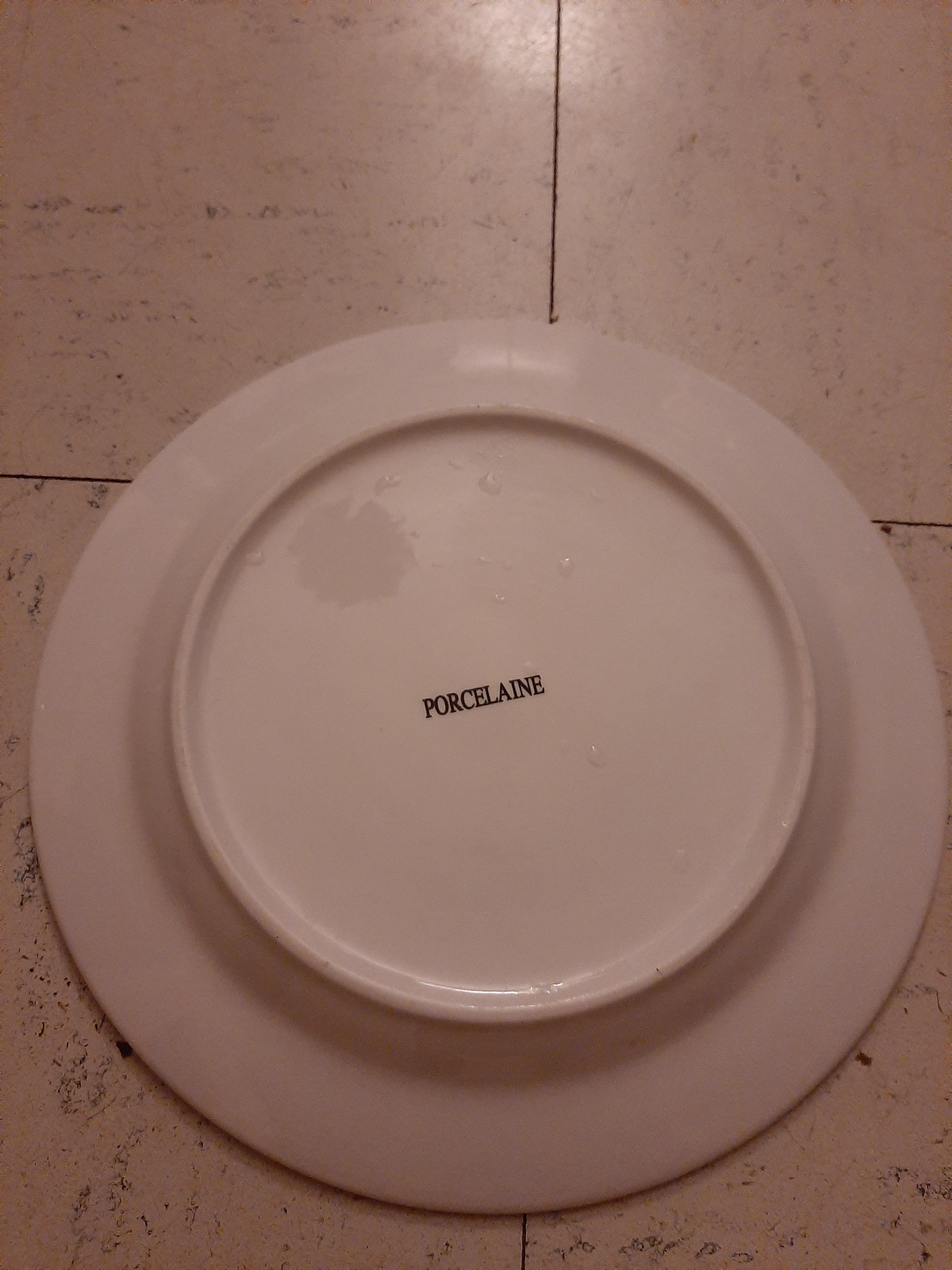 troc de troc assiette ronde image 1