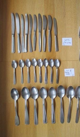 troc de troc lot de 27 couverts couteaux fourchettes image 0