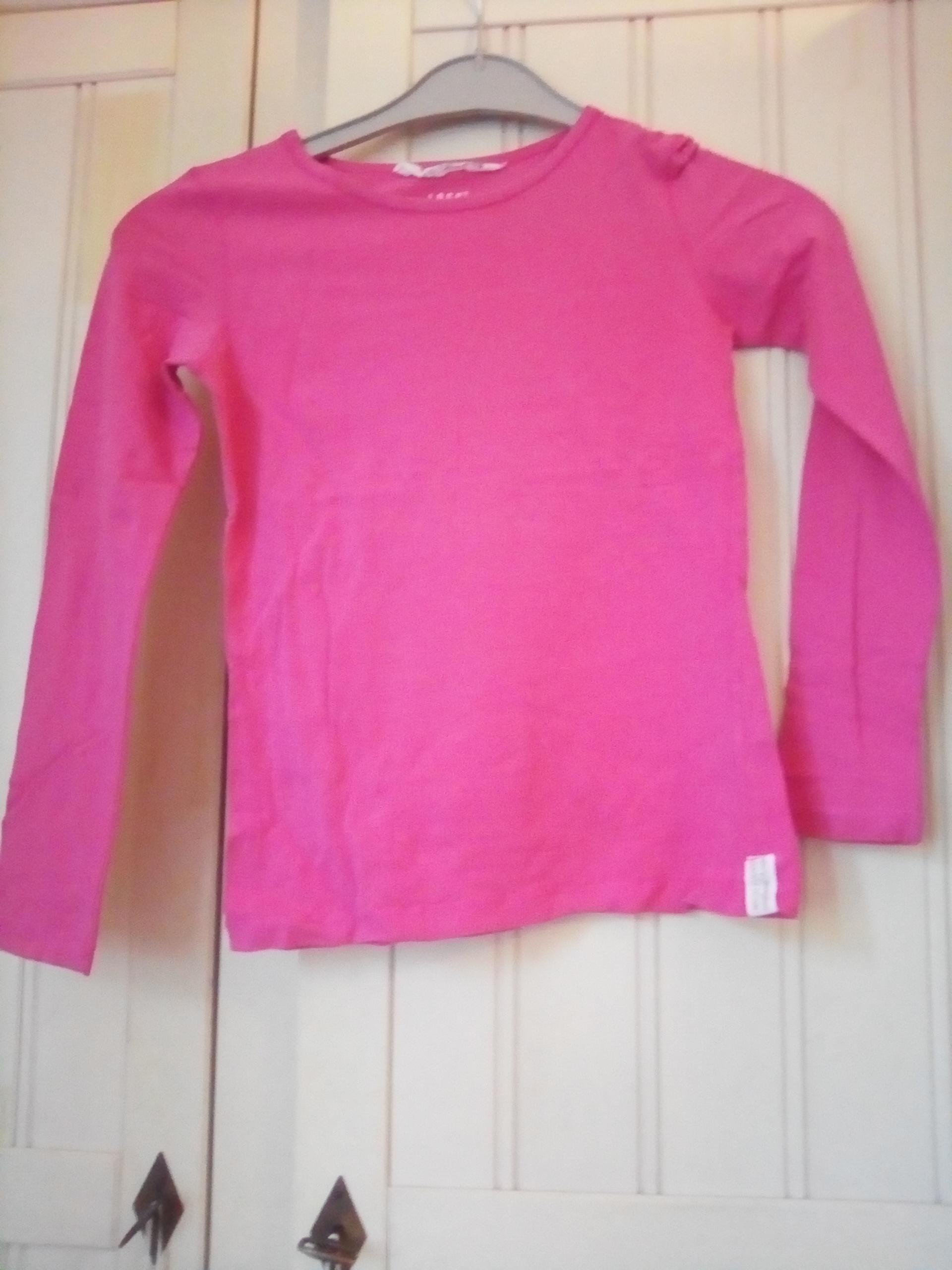 e49fd11e383cf troc de troc lot de 2 t-shirts manches longues fille 8 10 ans