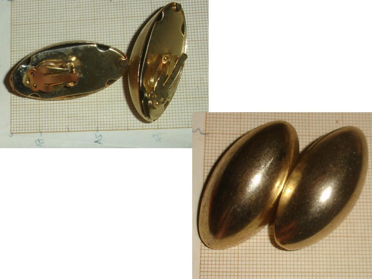 troc de troc rés. à 1977coco le 14/01/2021 >bo en métal doré de forme ovale image 0