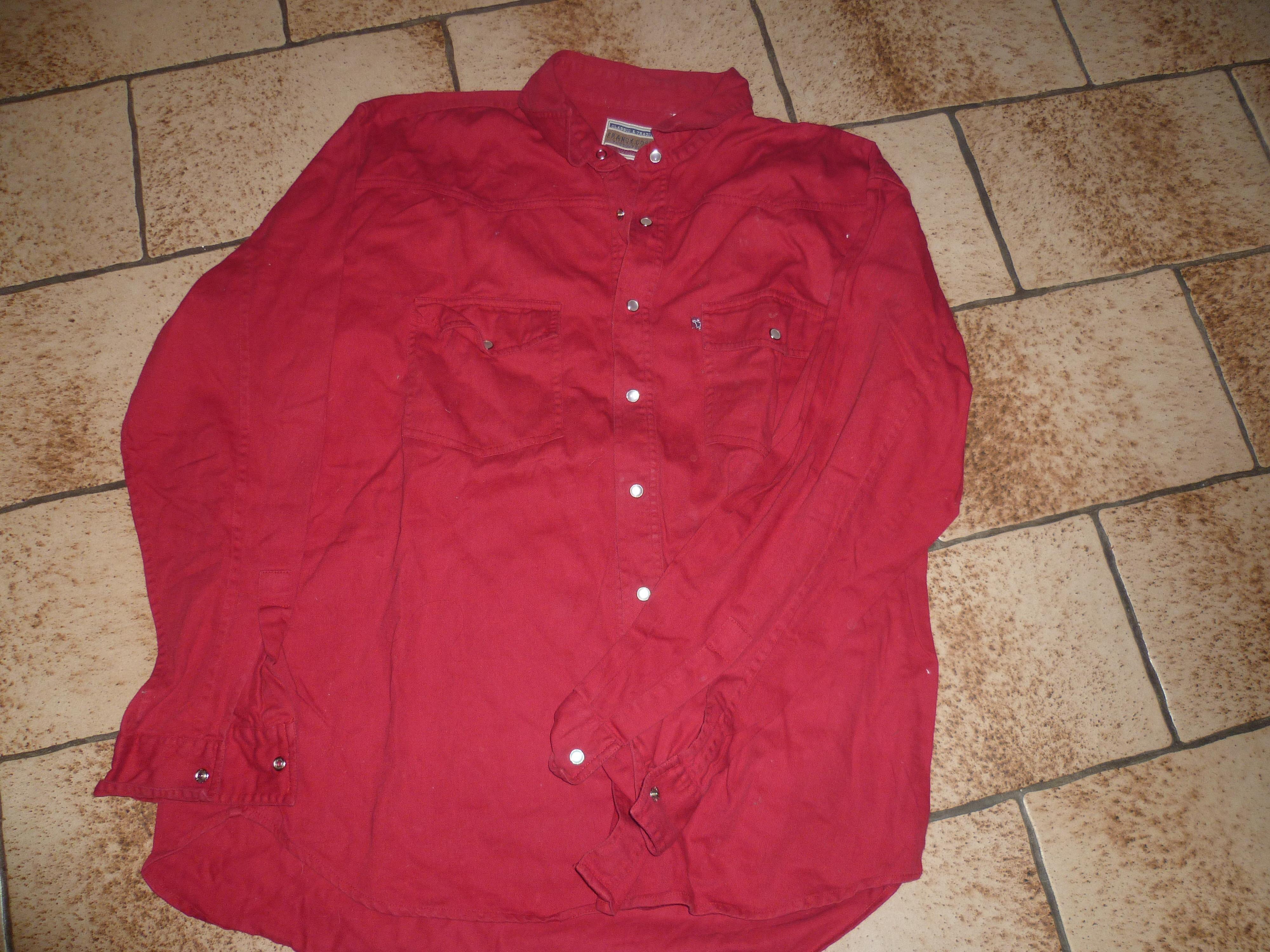 troc de troc chemise marque franck coster image 0