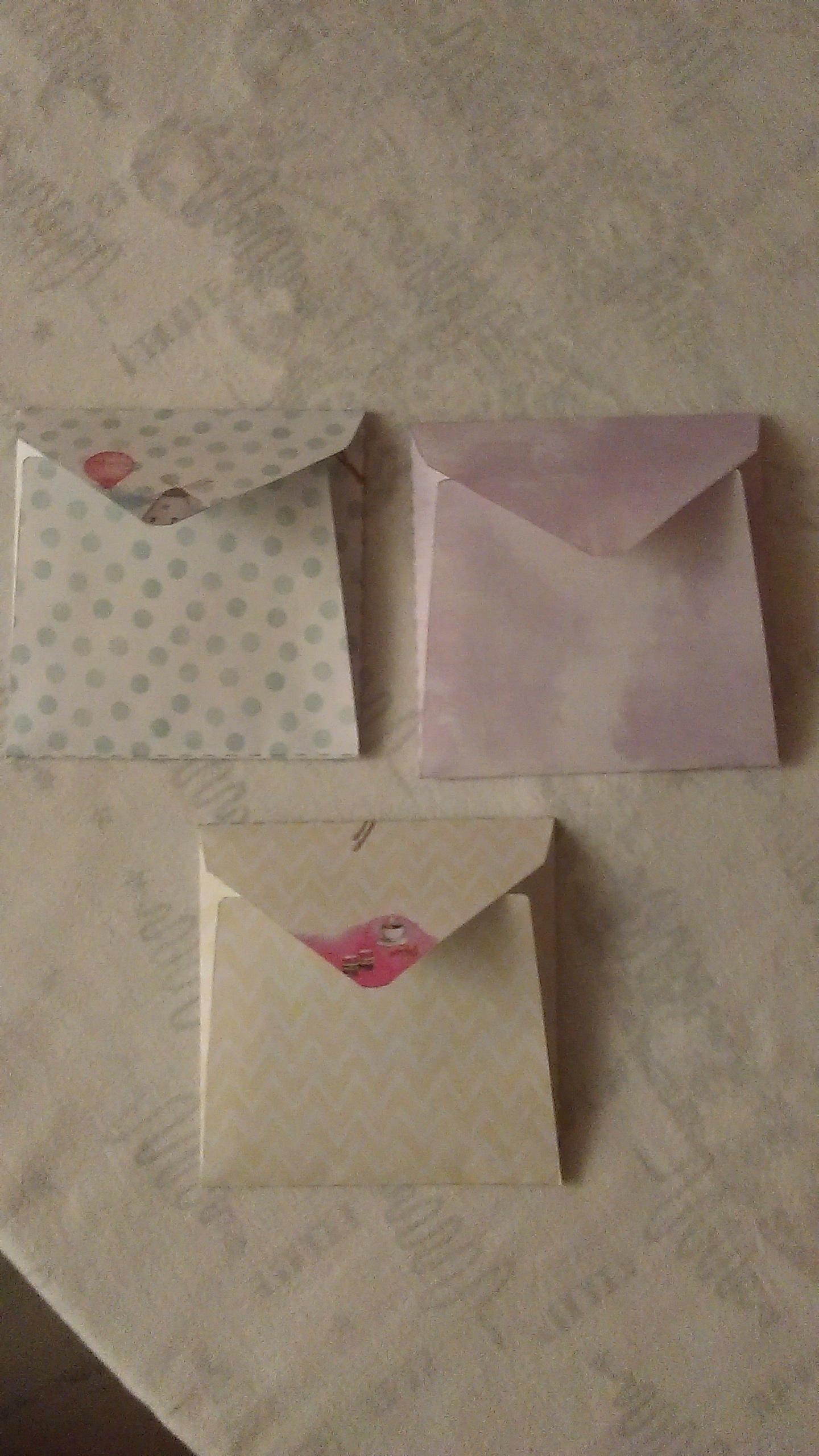 troc de troc 3 enveloppes imprimées. image 1