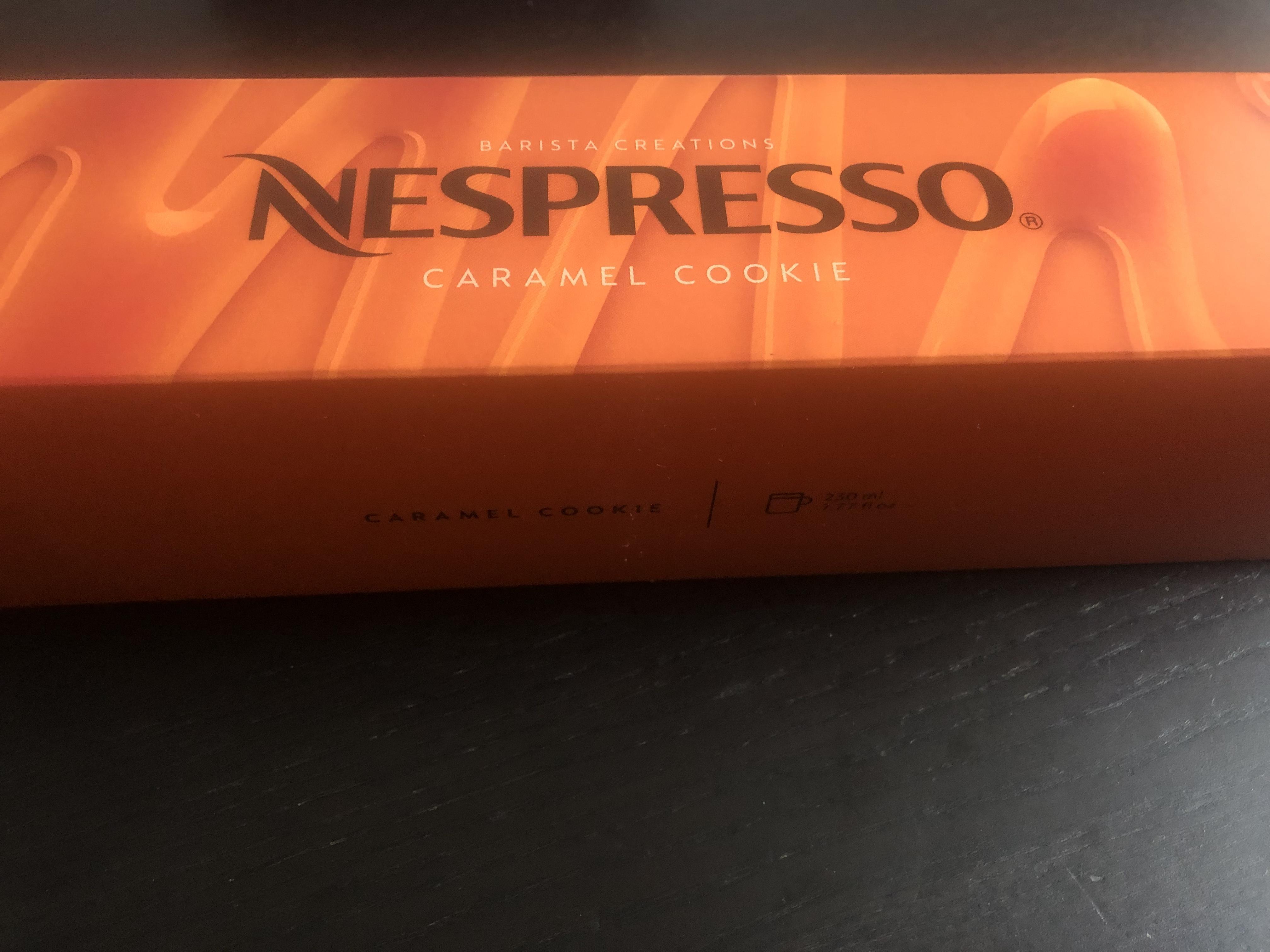 troc de troc barrette nespresso vertuo caramel cookie 230ml image 0