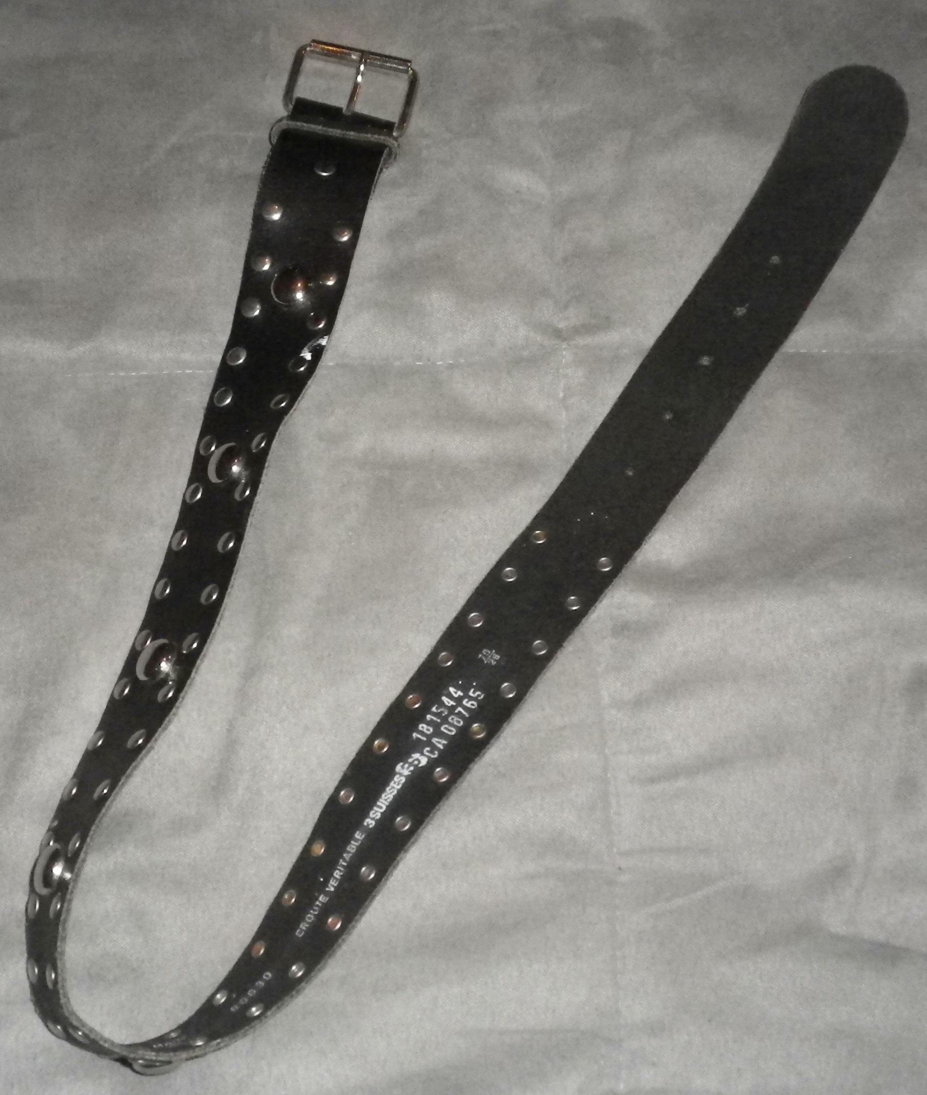 troc de troc ceinture en cuir image 0