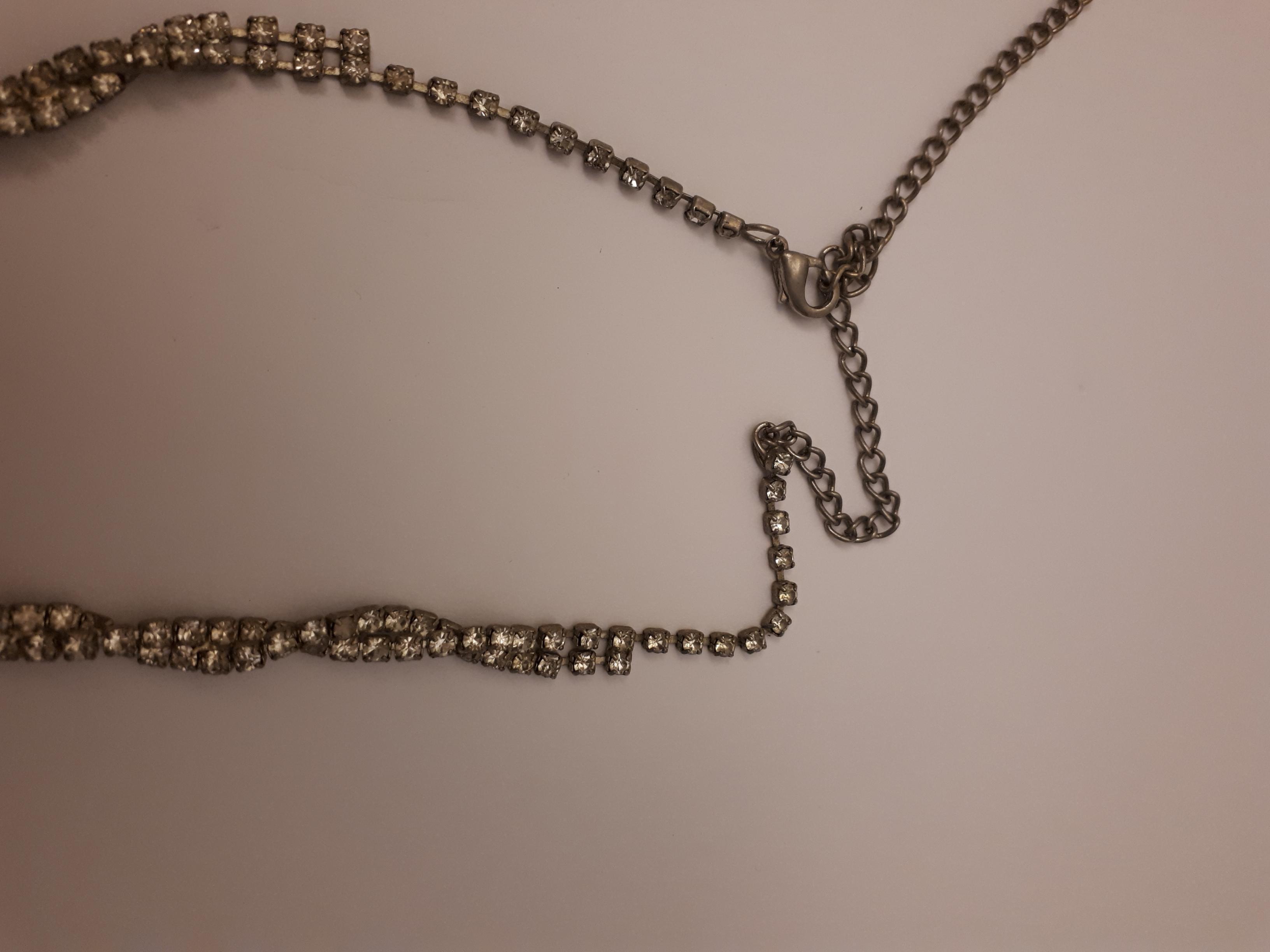 troc de troc collier strass image 2