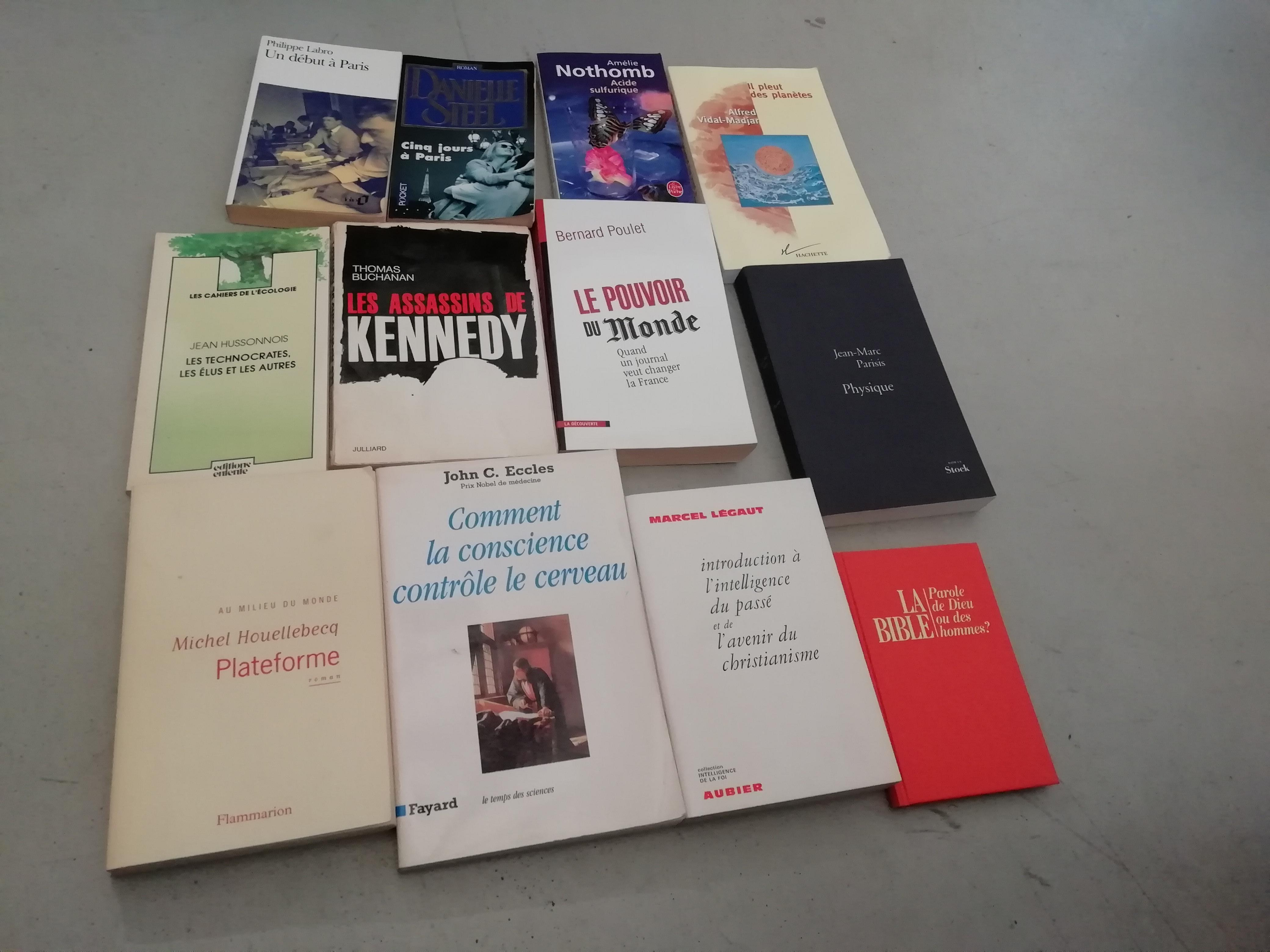troc de troc romans et livres d'investigation image 0