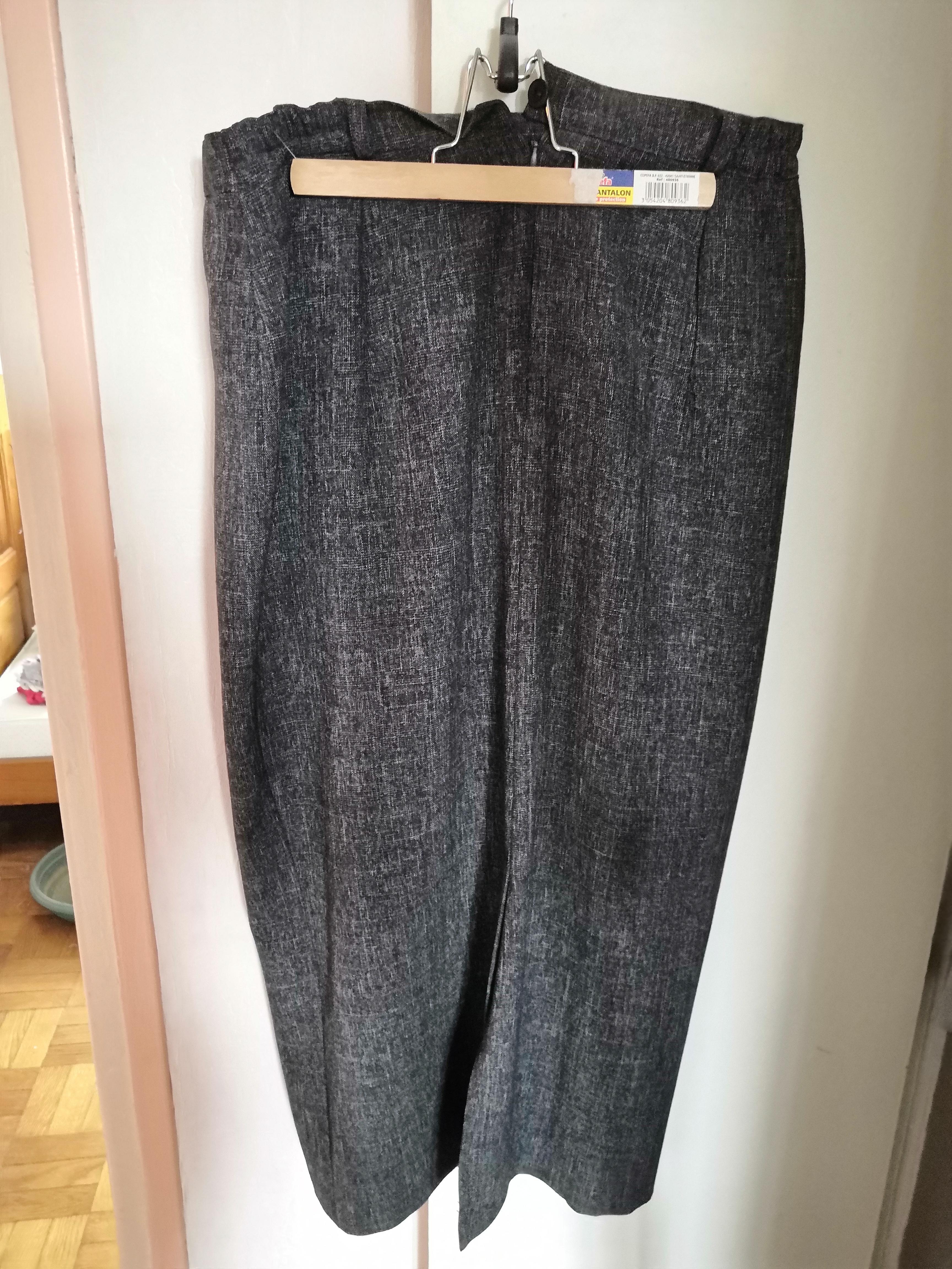 troc de troc jupe grise taille 42 image 0