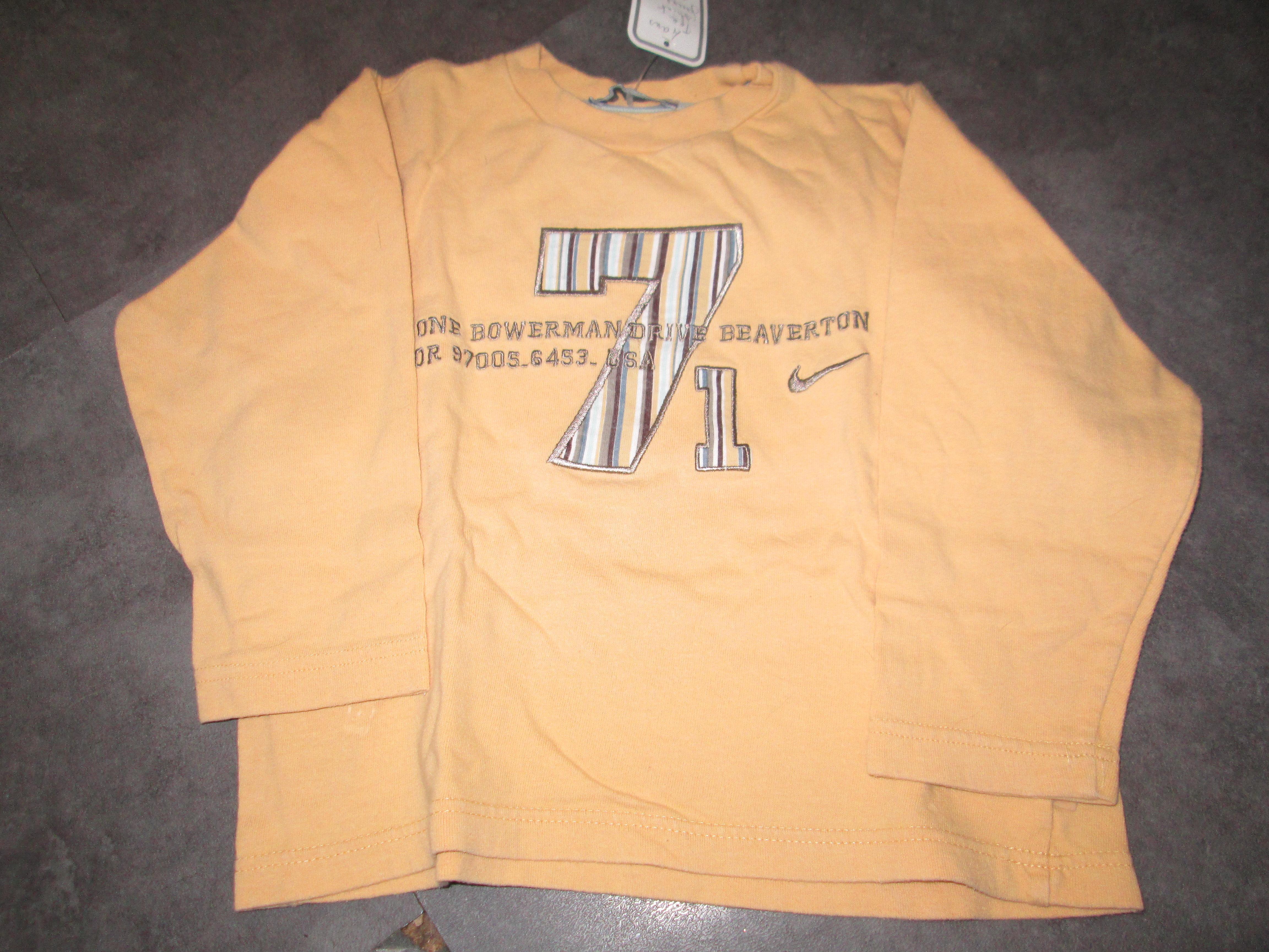 troc de troc tee shirt jaune  4 ans 2 noisettes image 0