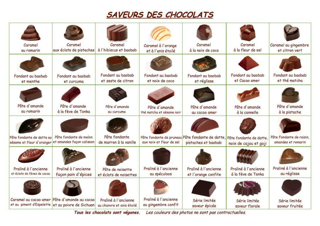 troc de troc * Épuisé * ballotin de 200g de bonbons de chocolats vegan image 0