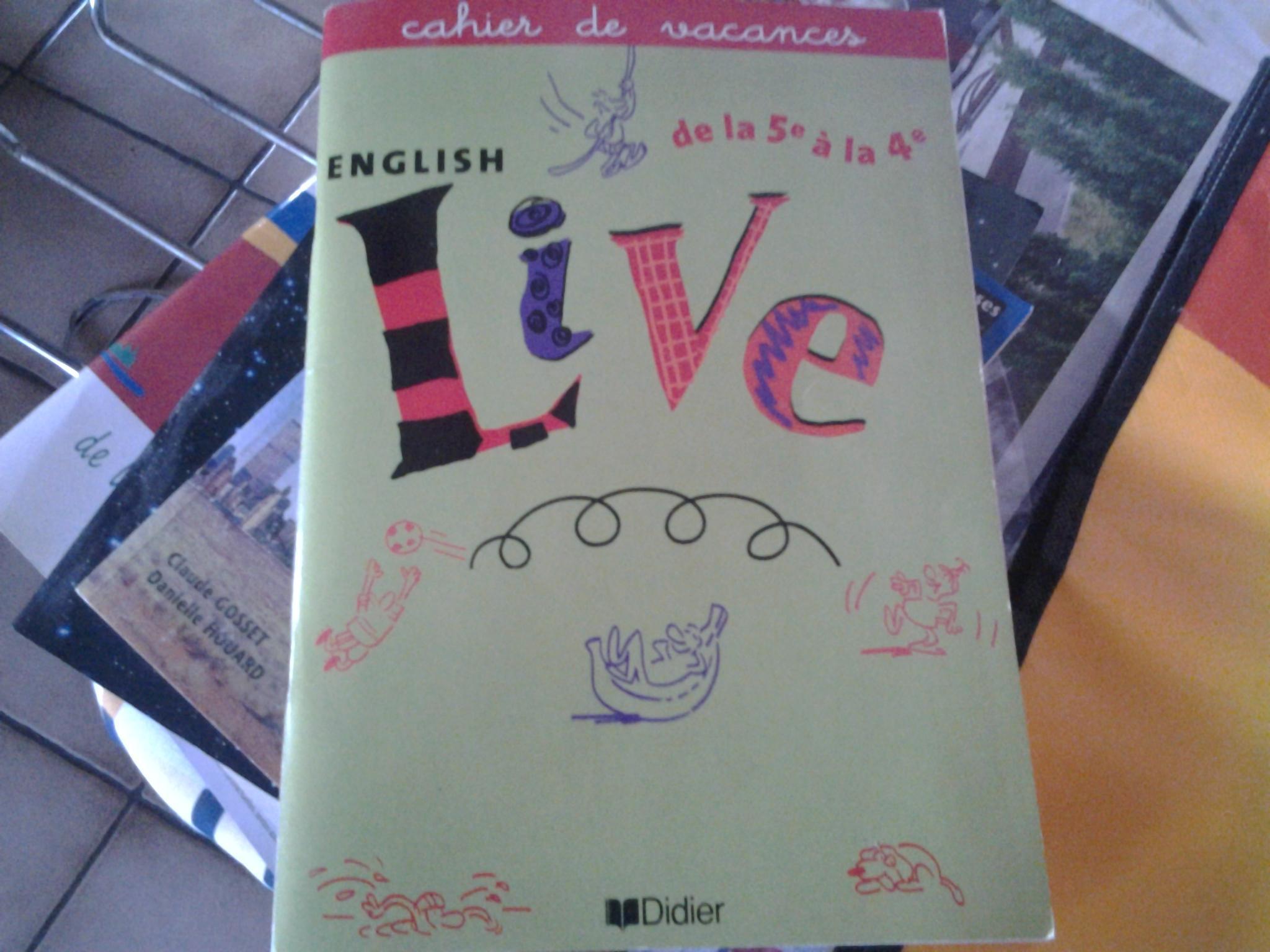 troc de troc cahier de vacances anglais image 0