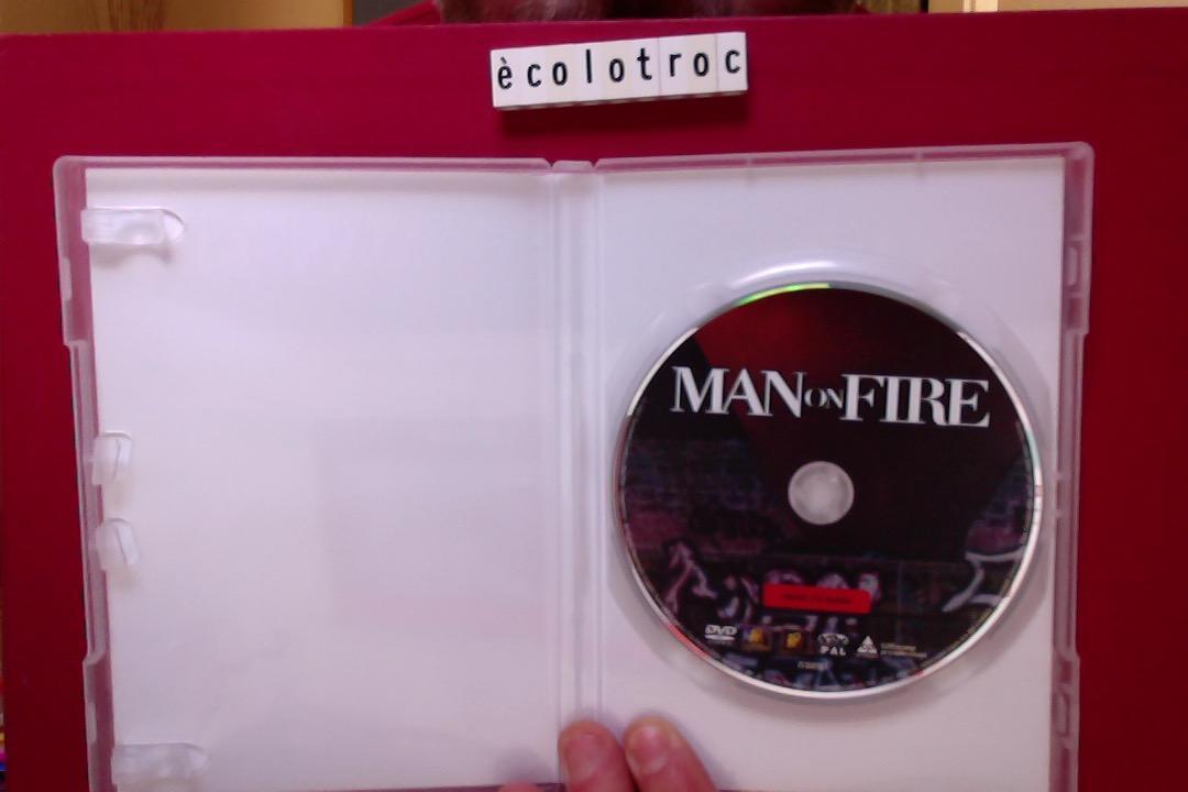 troc de troc port compris - dvd man on fire - comme neuf - sans boitier image 2