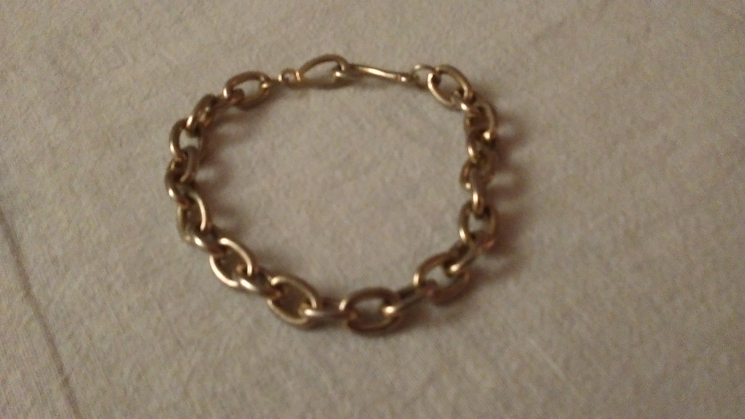 troc de troc bracelet argenté. image 0