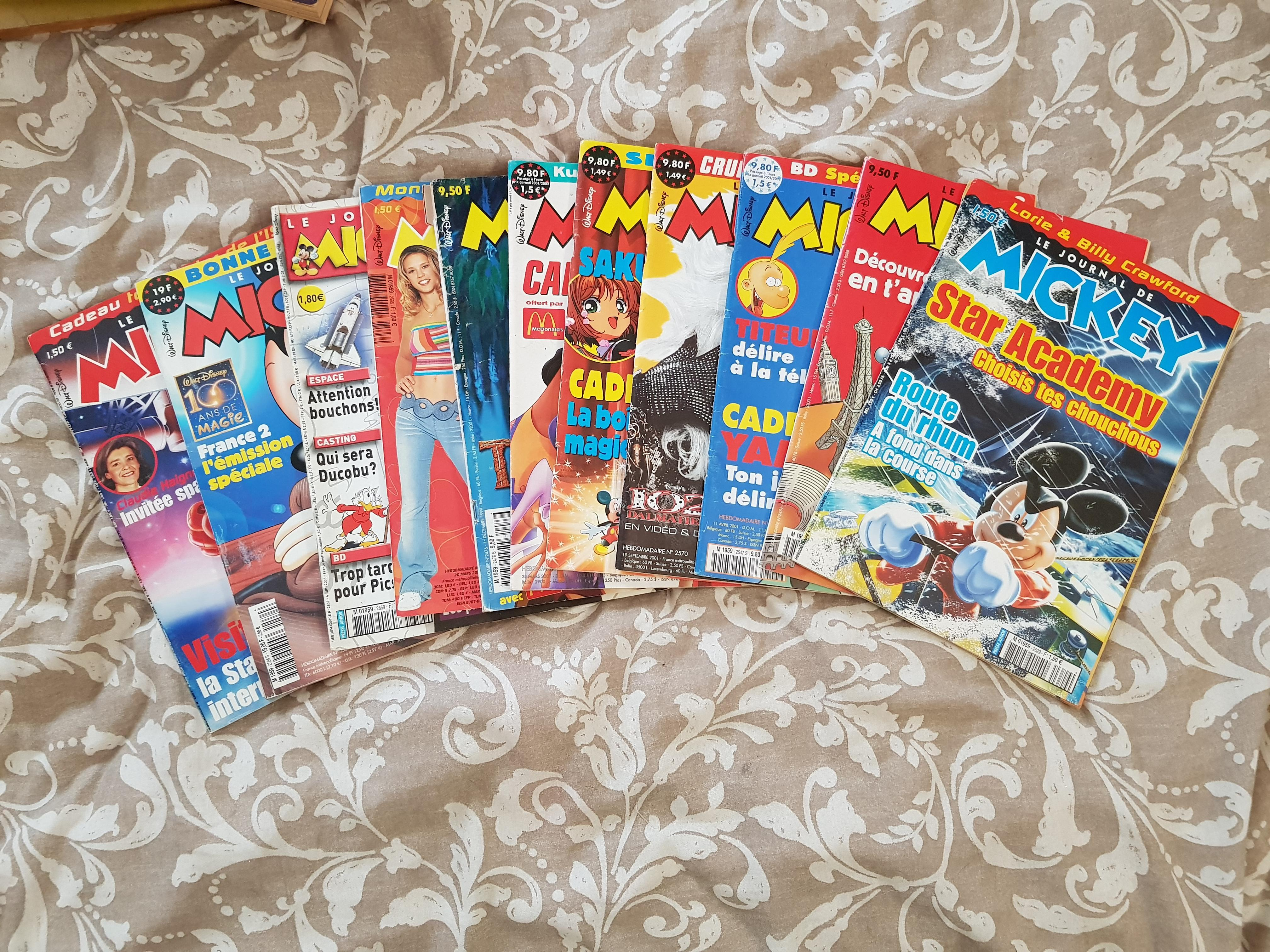 troc de troc lot magazines mickey et picsous image 2