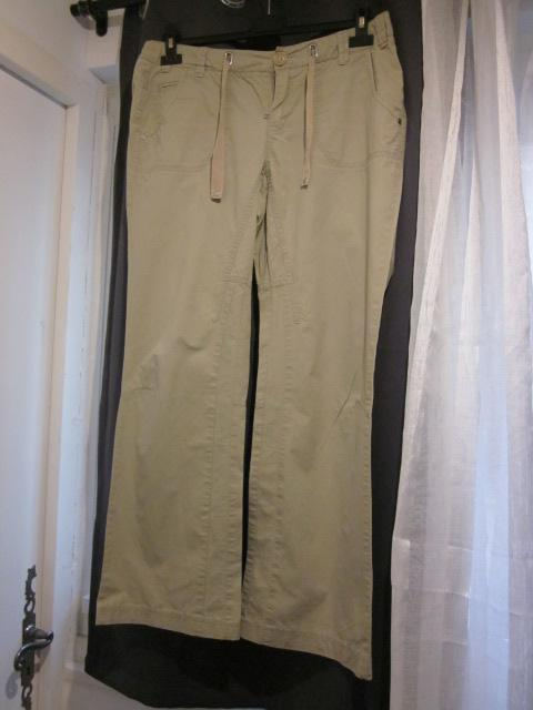 troc de troc pantalon beige t40 esprit 100%coton image 0