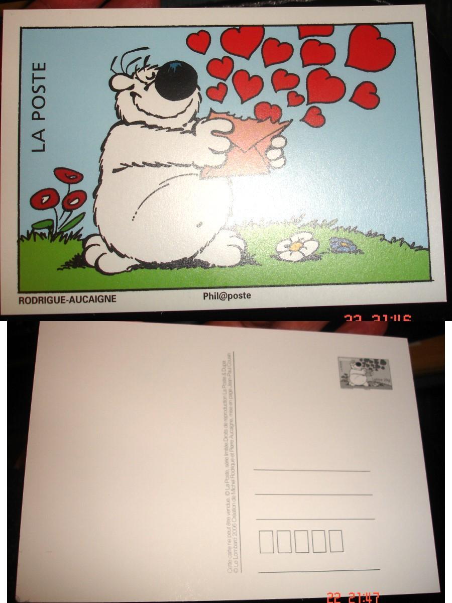 troc de troc carte collection 2006 / chien cubitus rodrigue-aucaigne image 0
