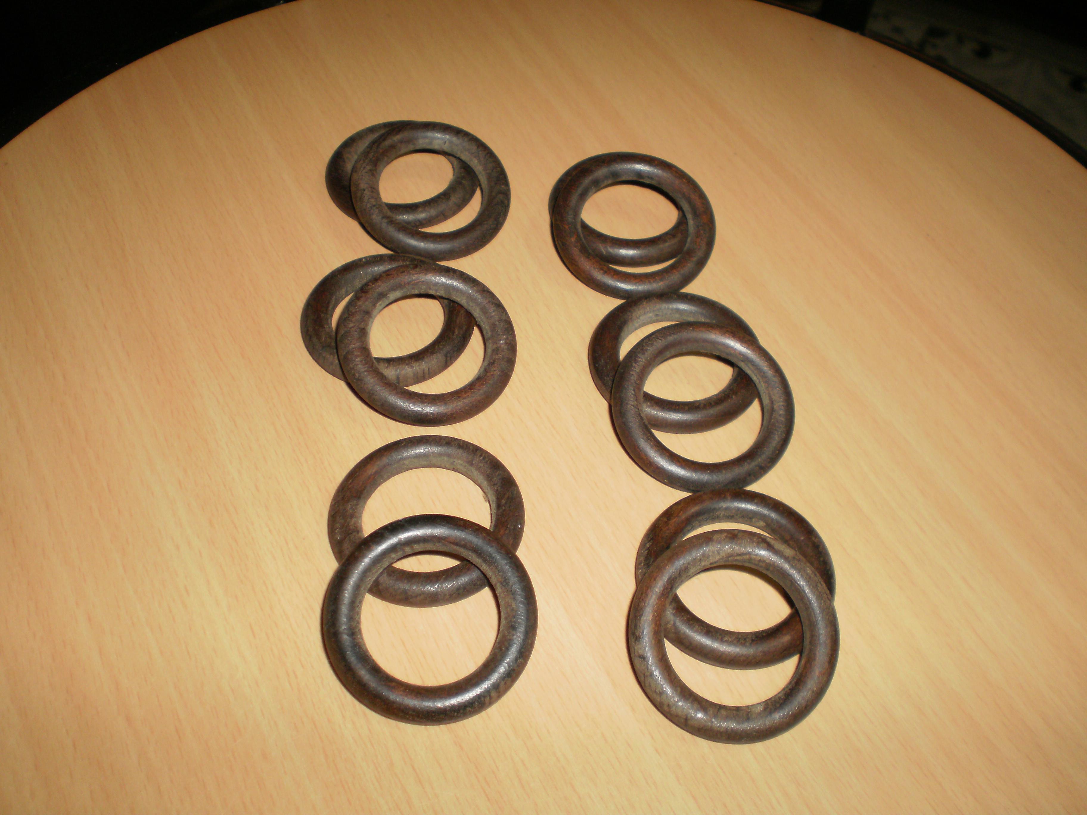 troc de troc 2 éme lot de 12 anneaux bois image 0