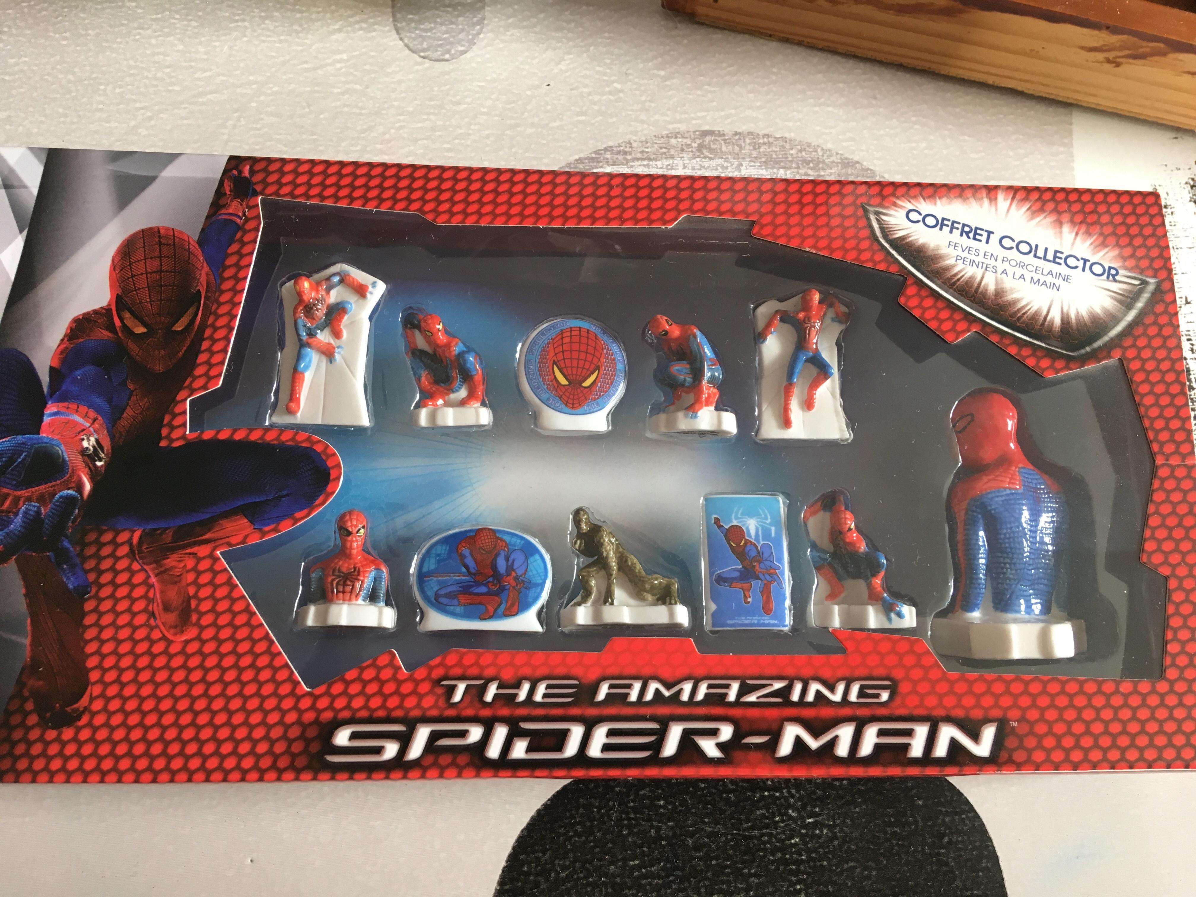 troc de troc coffret fèves spiderman image 0